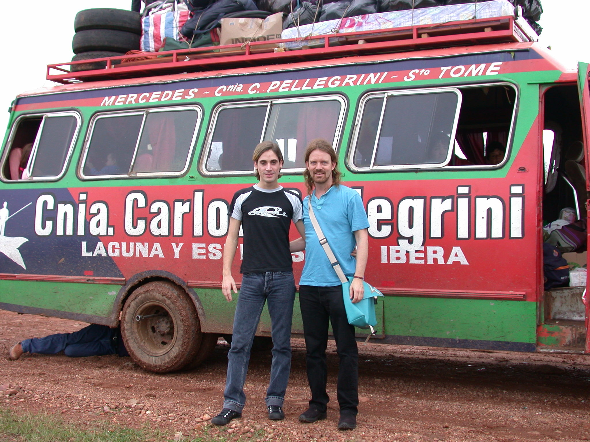 Crazy Bus Breaks Down on Journey to Esteros de Ibará, Argentina