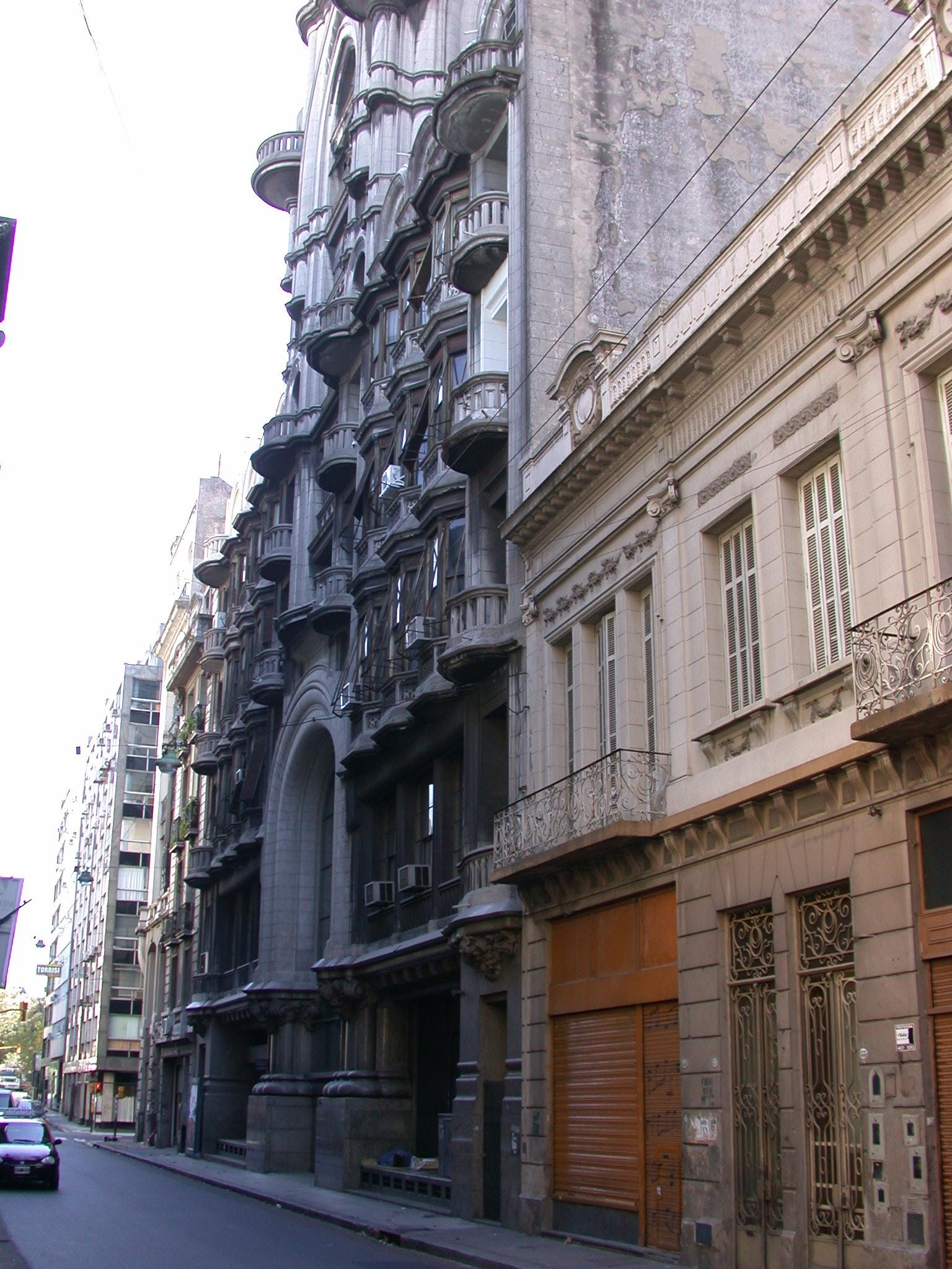 Street Scene, Buenos Aires, Argentina