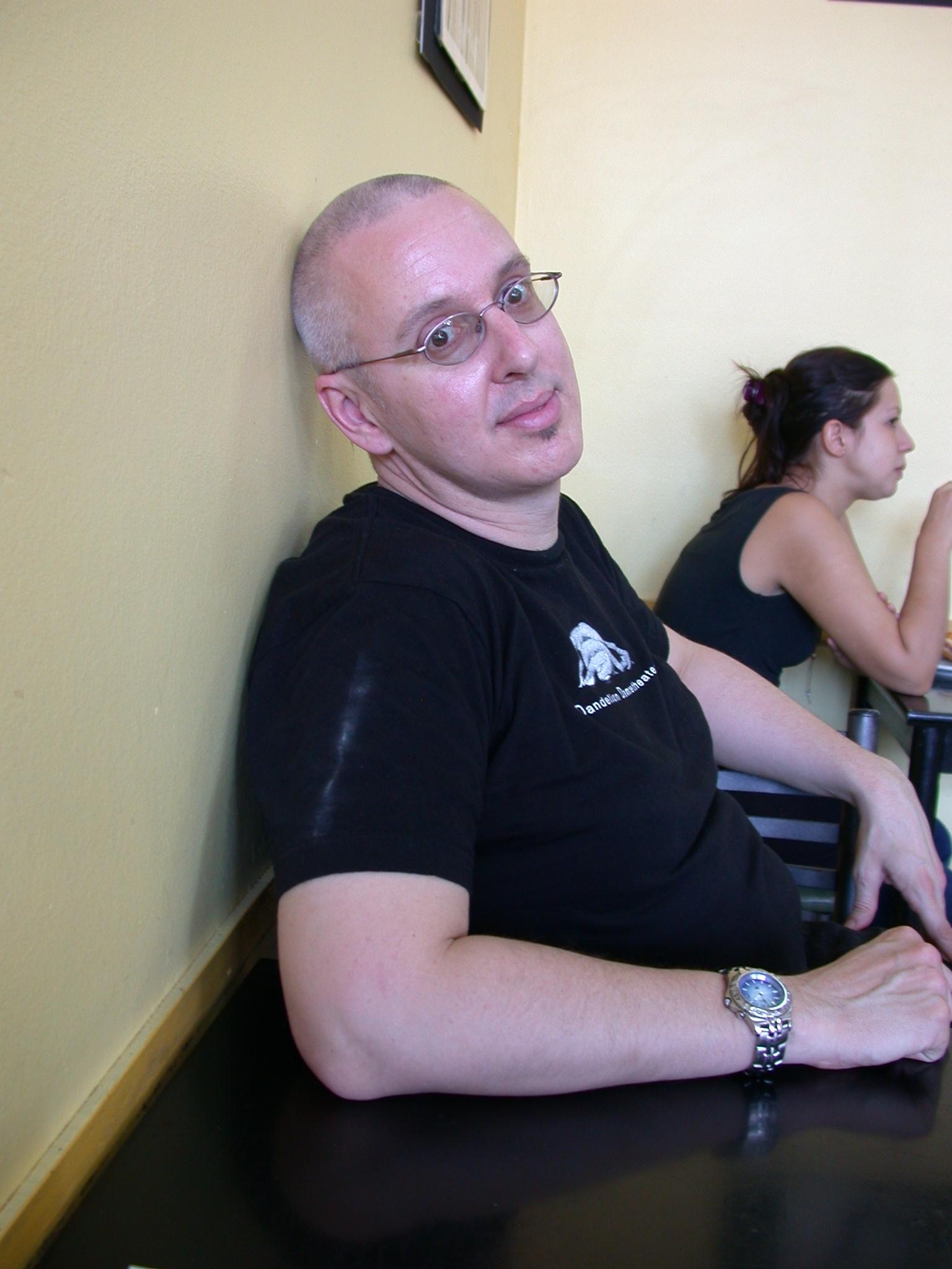 Jim e Sparklepants, Cafe de las Madres, Buenos Aires, Argentina