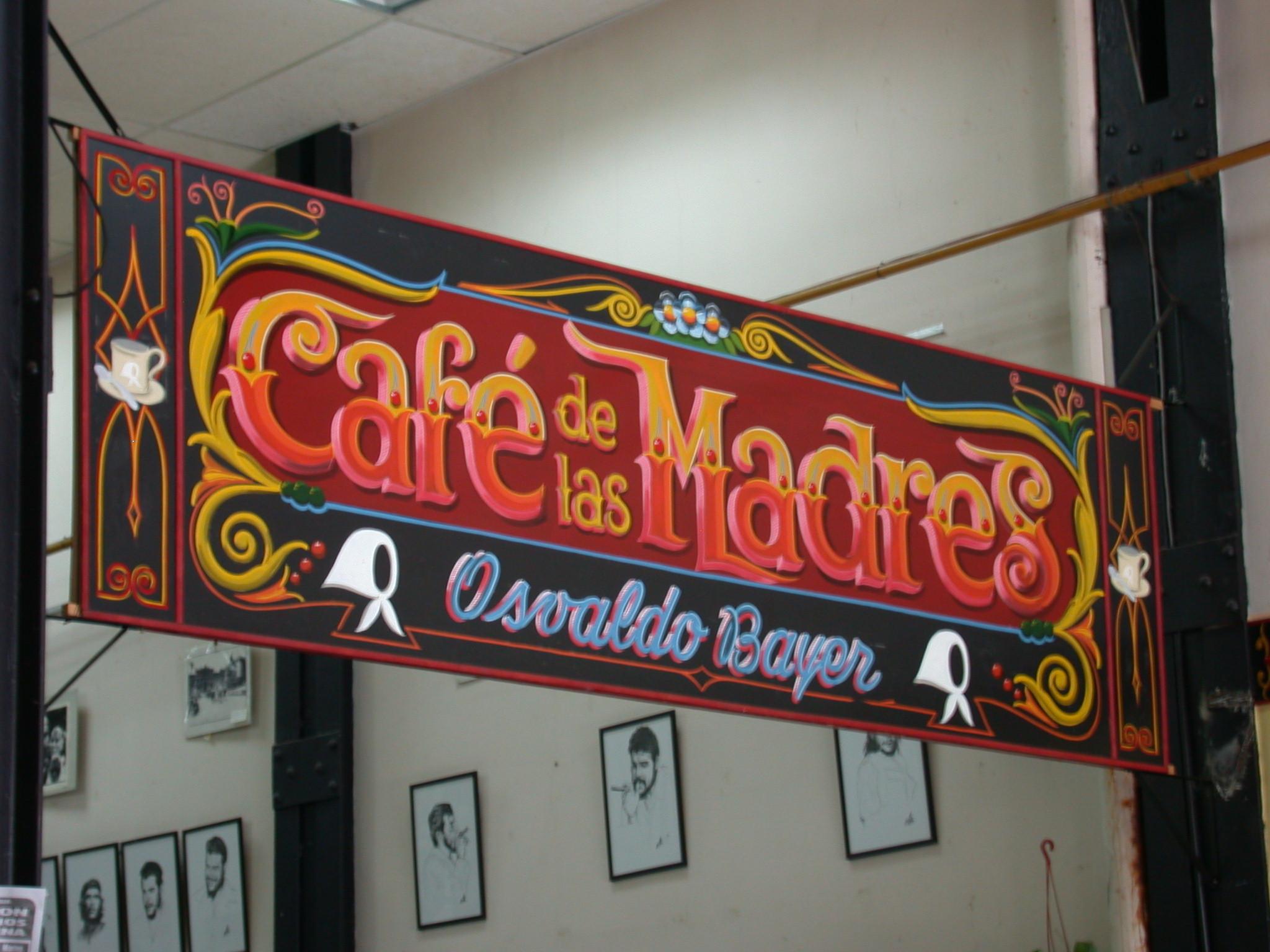 Cafe de las Madres, Buenos Aires, Argentina