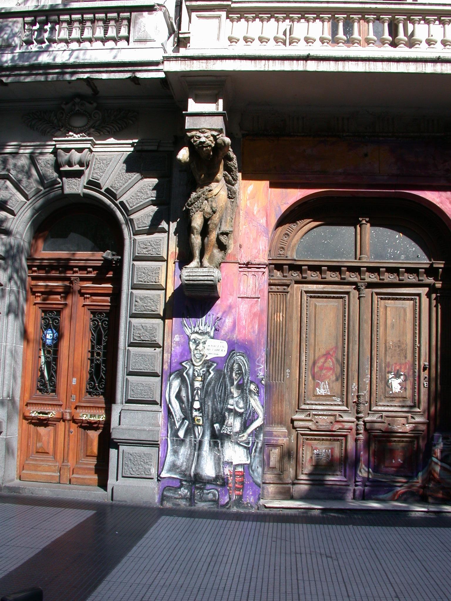 Street Graffiti, Buenos Aires, Argentina