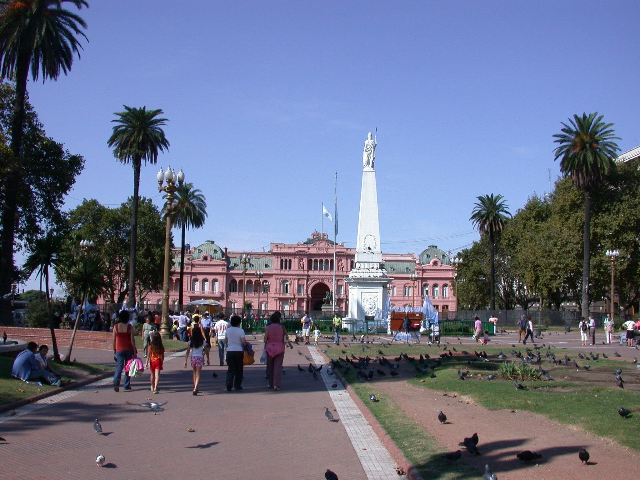 Plaza de Mayo, Buenos Aires, Argentina