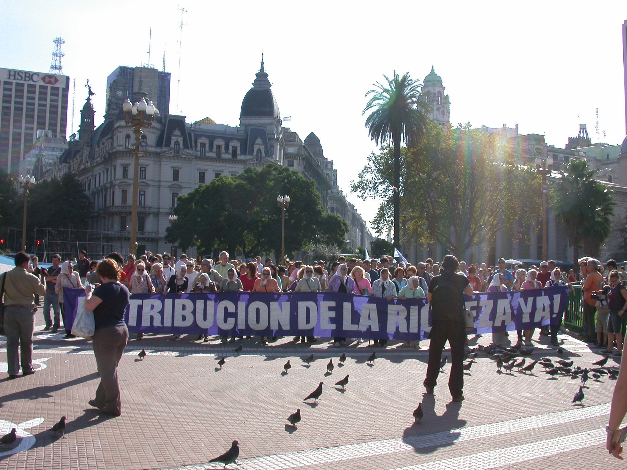 Mothers Marching on Plaza de Mayo, Buenos Aires, Argentina