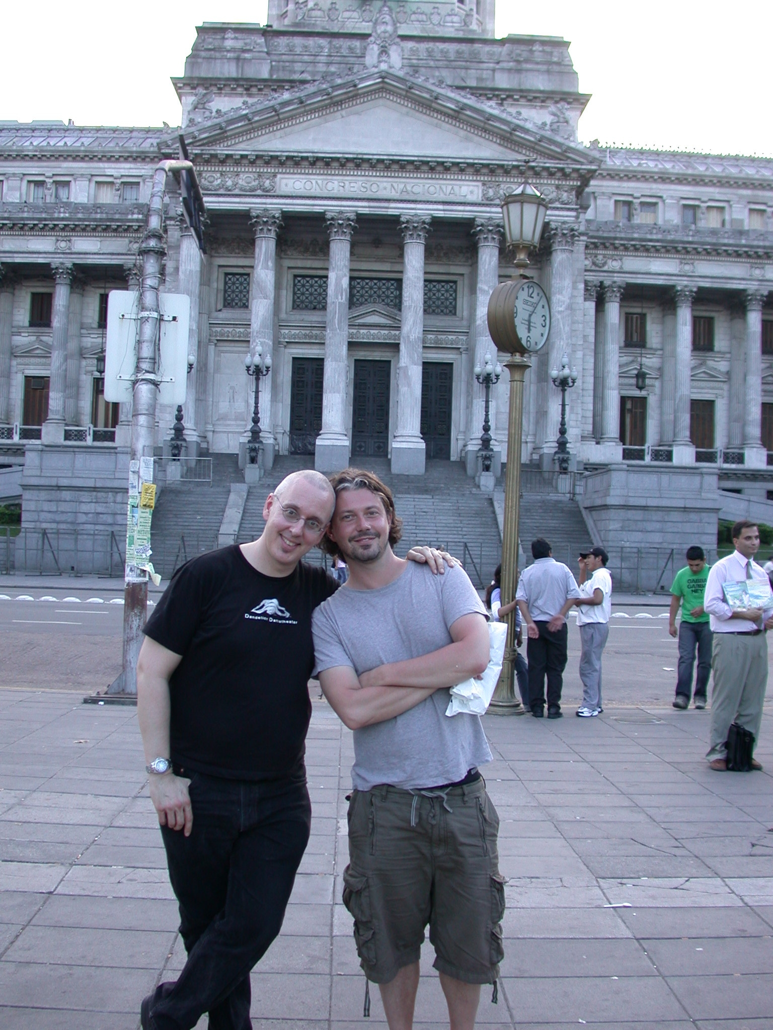Jim e Sparklepants and Frank from Montreal, Buenos Aires, Argentina