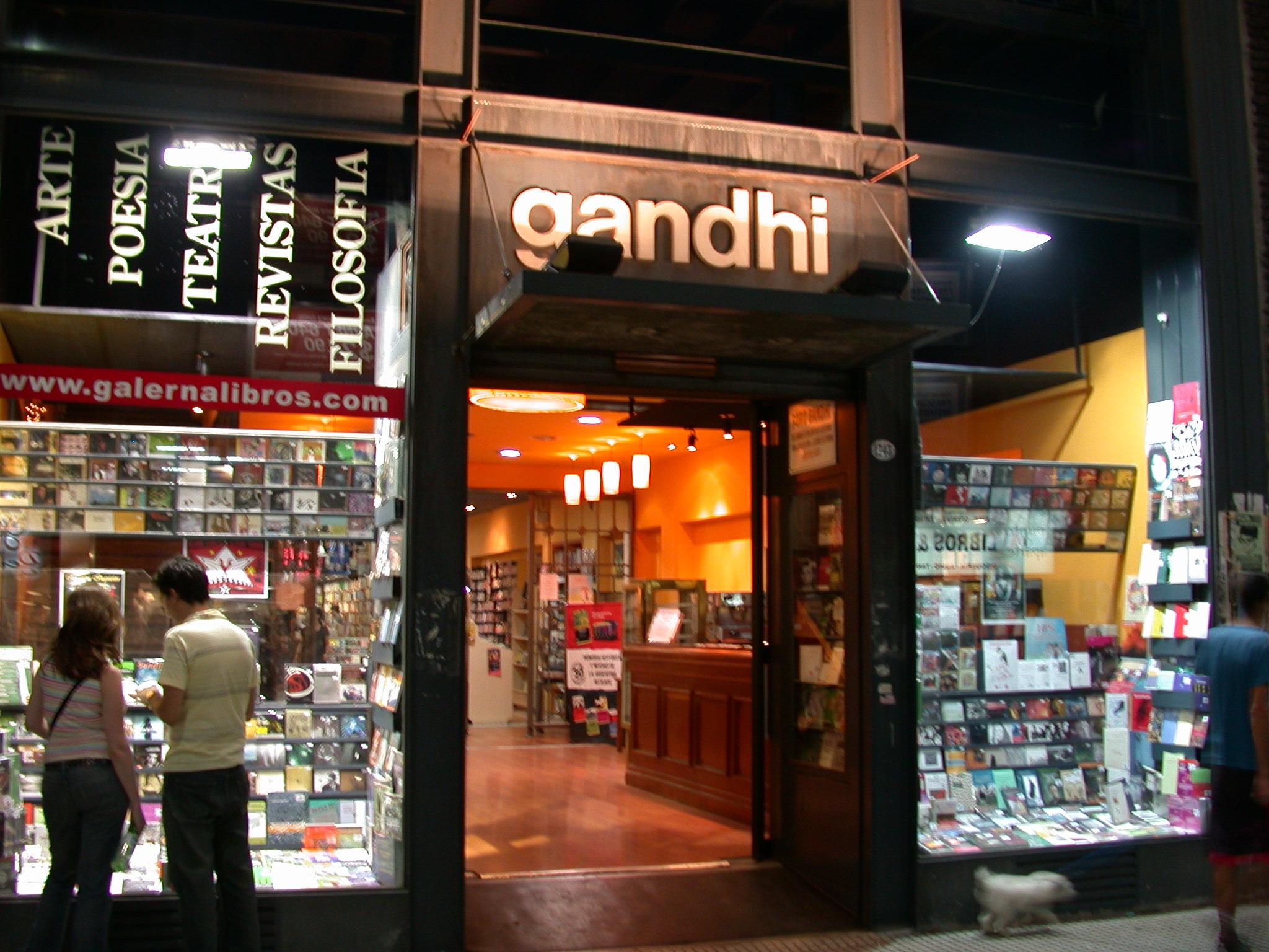 Gandhi Bookstore, Buenos Aires, Argentina