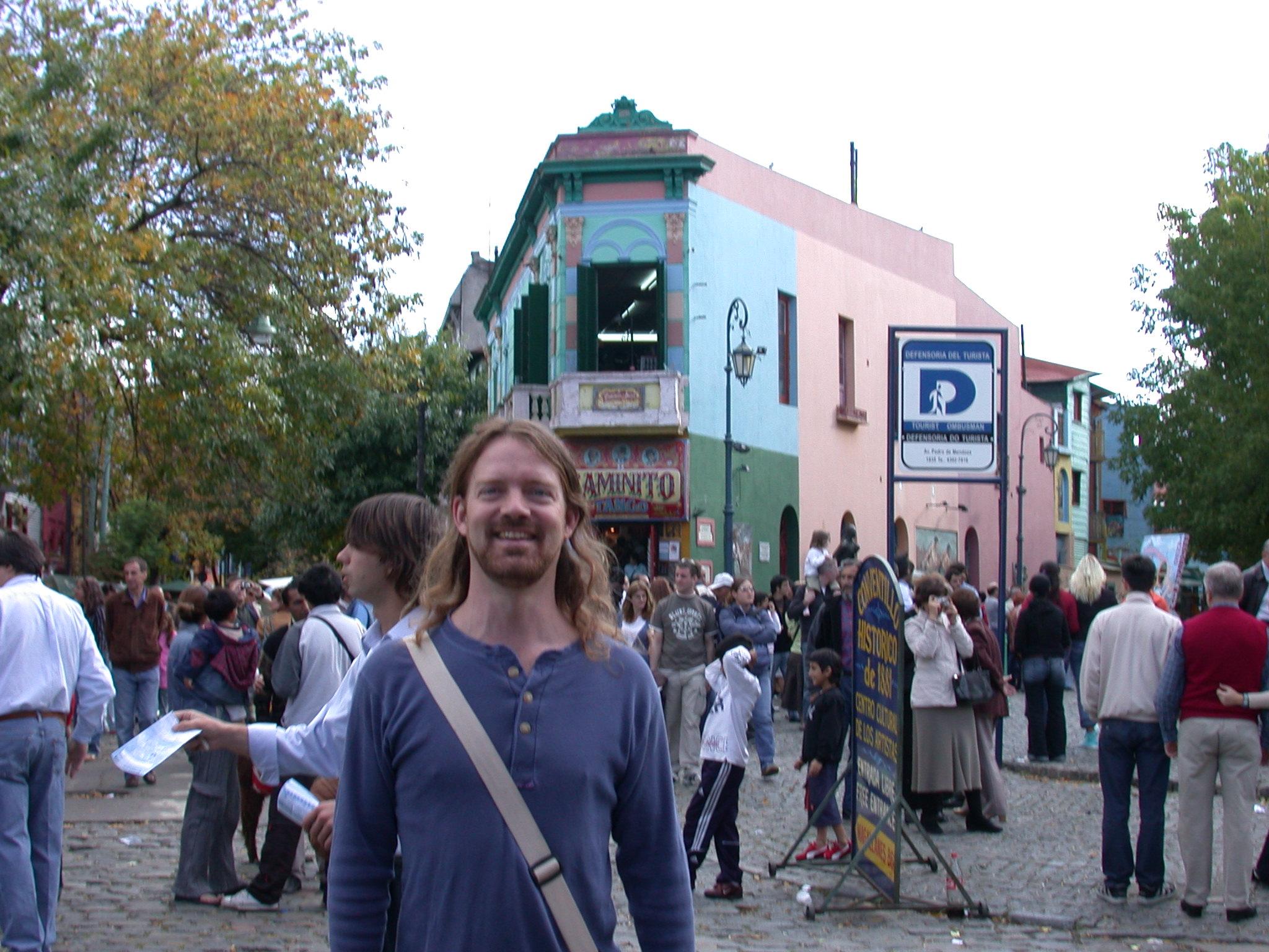 Will in La Boca, Buenos Aires, Argentina