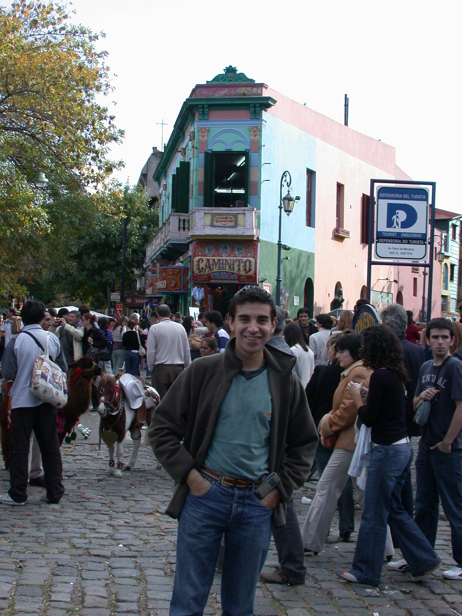Edgardo in La Boca, Buenos Aires, Argentina