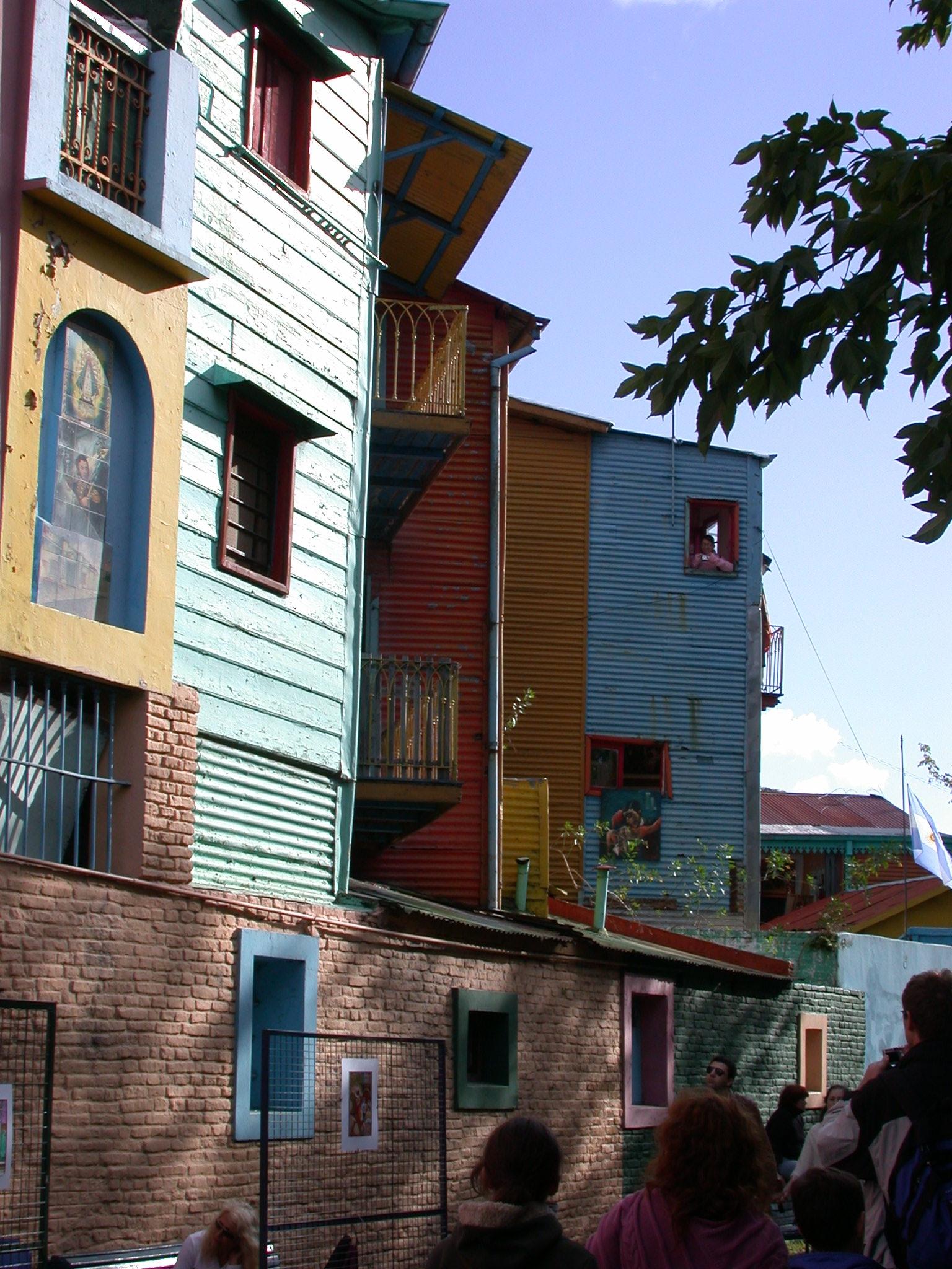 Colorful Buildings, La Boca, Buenos Aires, Argentina