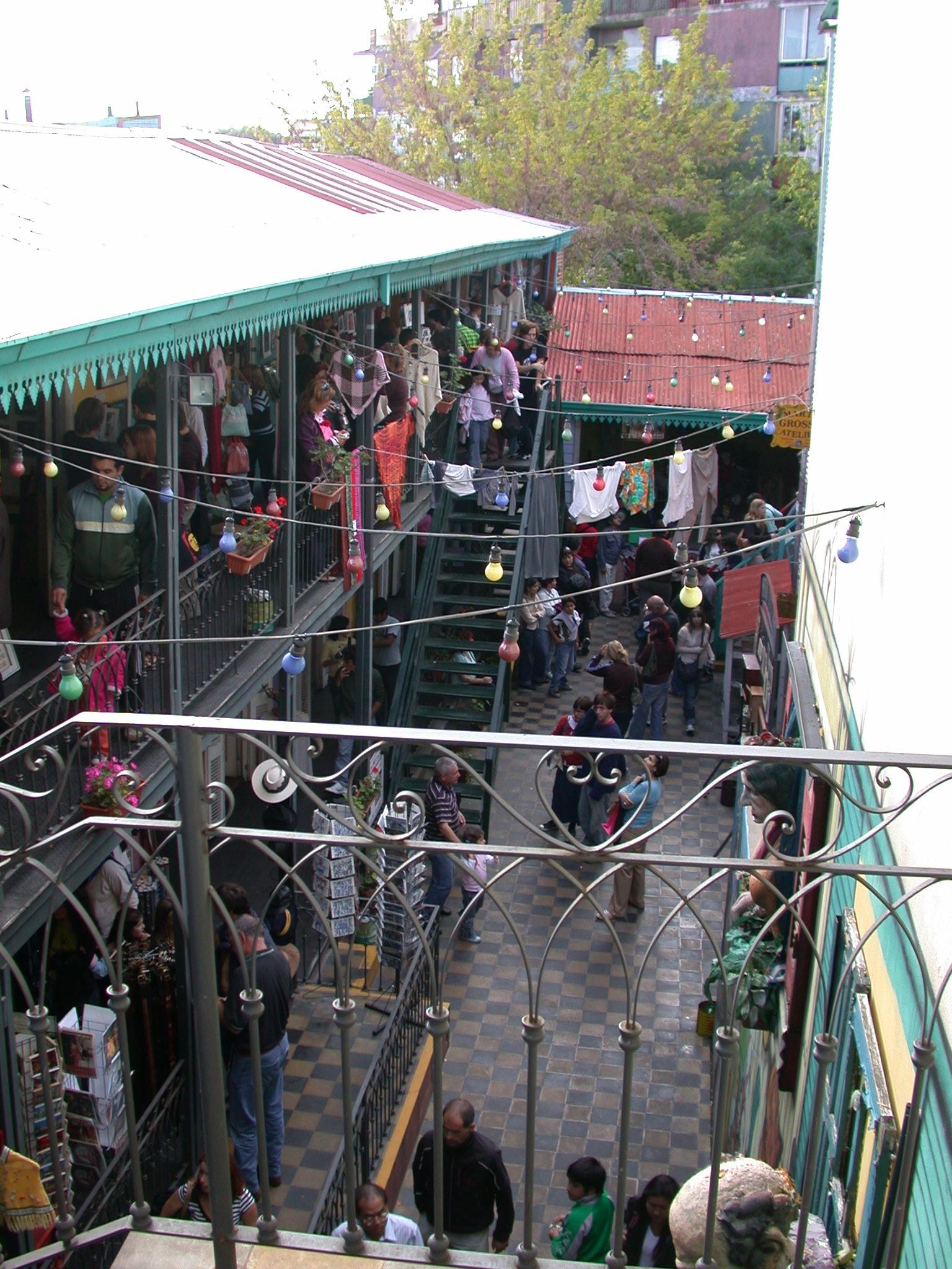 Immigrant Housing, La Boca, Buenos Aires, Argentina