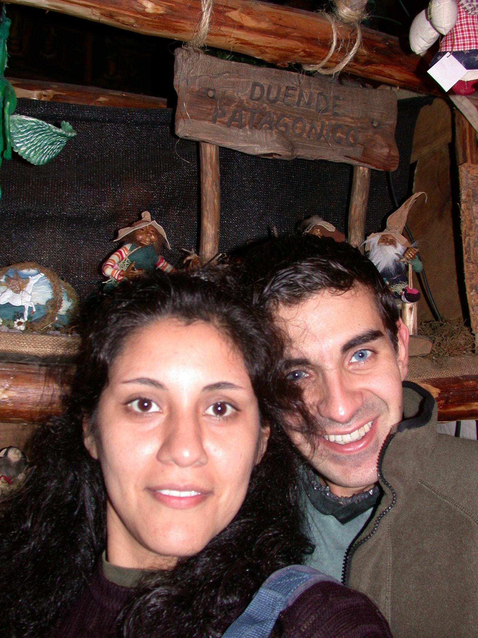Nerisa and Edgardo, Faerie Shoppe, San Telmo, Buenos Aires, Argentina