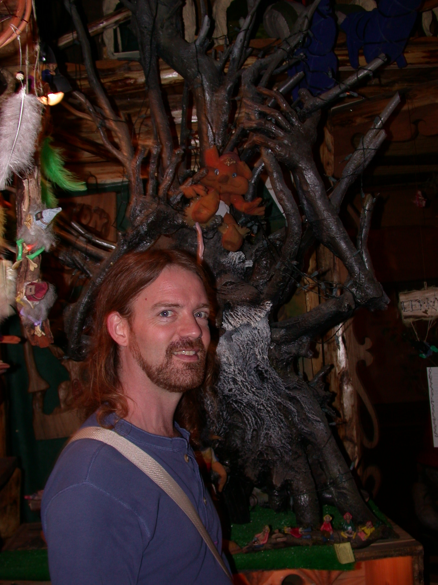 Will in Faerie Shoppe, San Telmo, Buenos Aires, Argentina