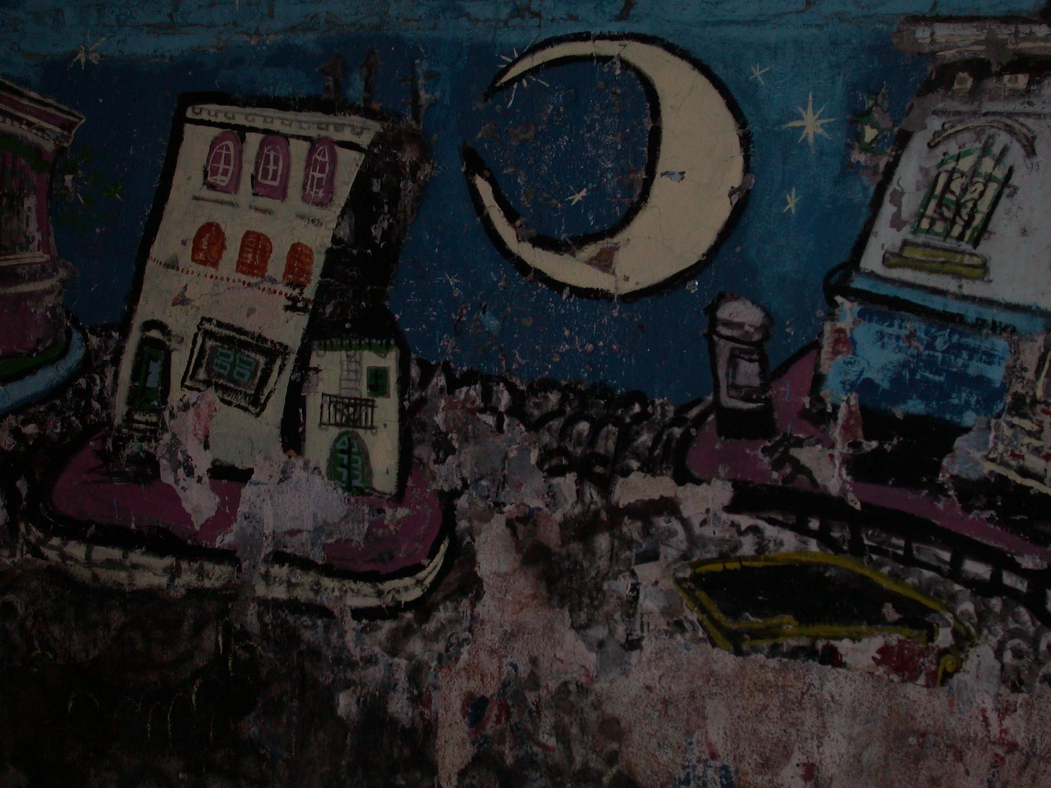 Grafitti Mural, San Telmo, Buenos Aires, Argentina