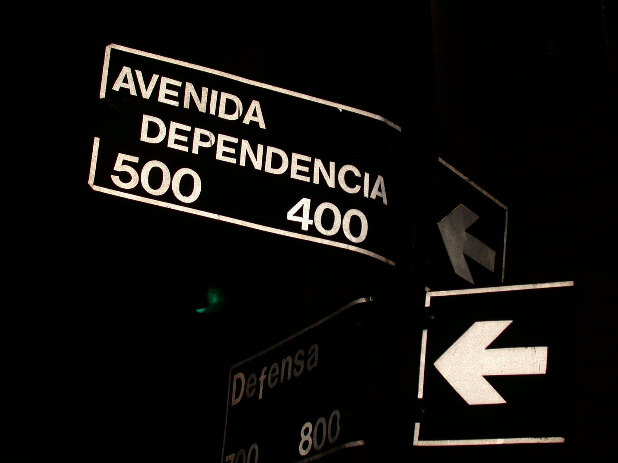 Avenida (In)dependencia, San Telmo, Buenos Aires, Argentina