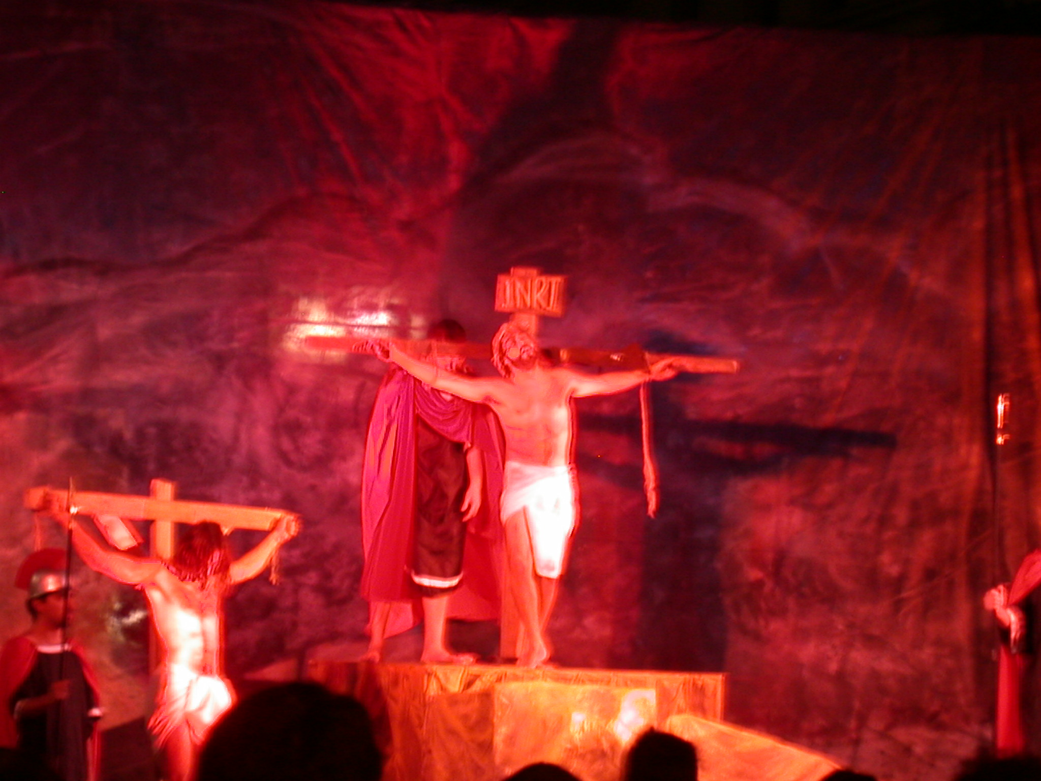 Crucifixion of Jesus Re-Enacted, Buenos Aires, Argentina