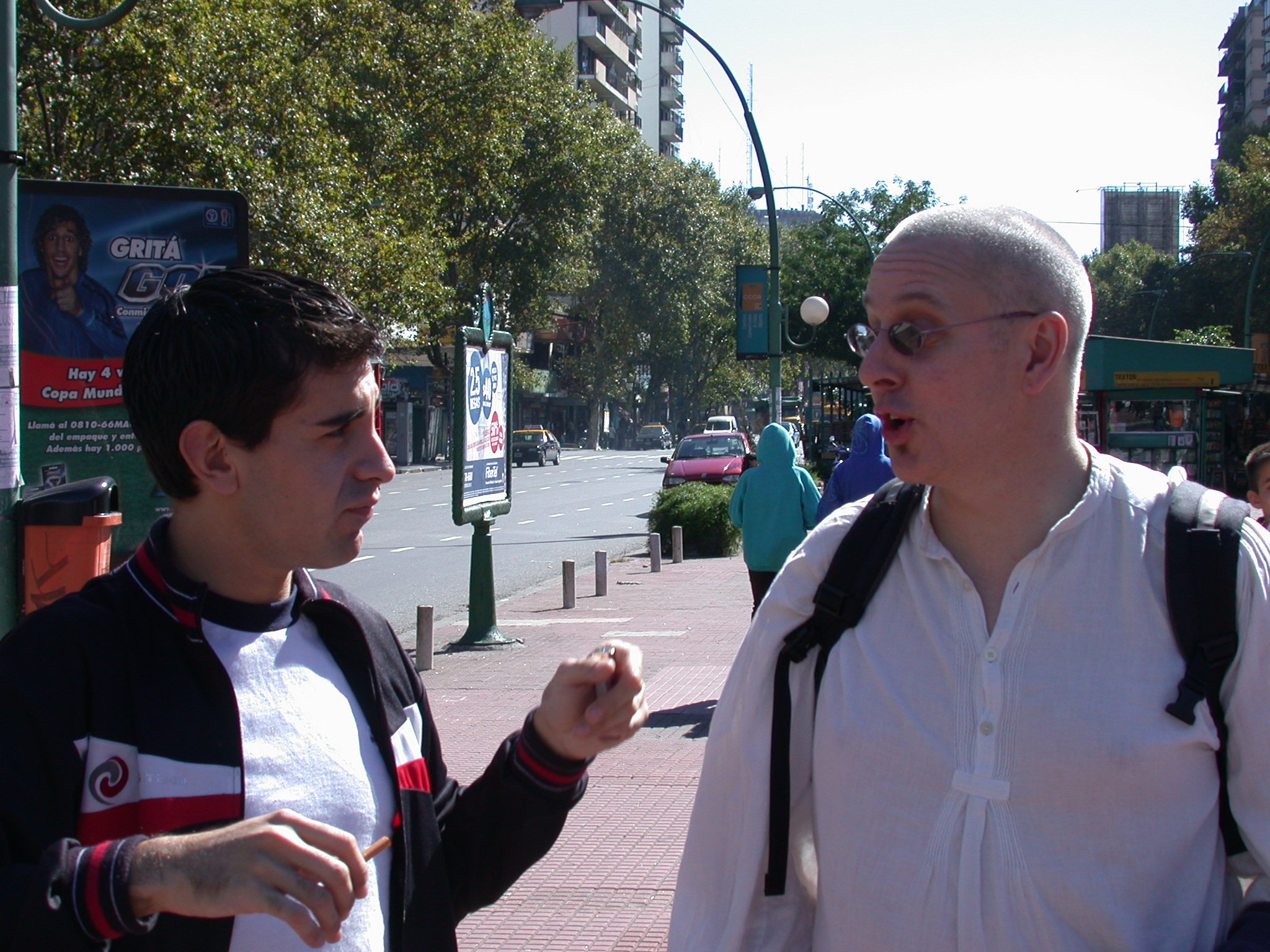 Edgardo and Jim e, Buenos Aires, Argentina