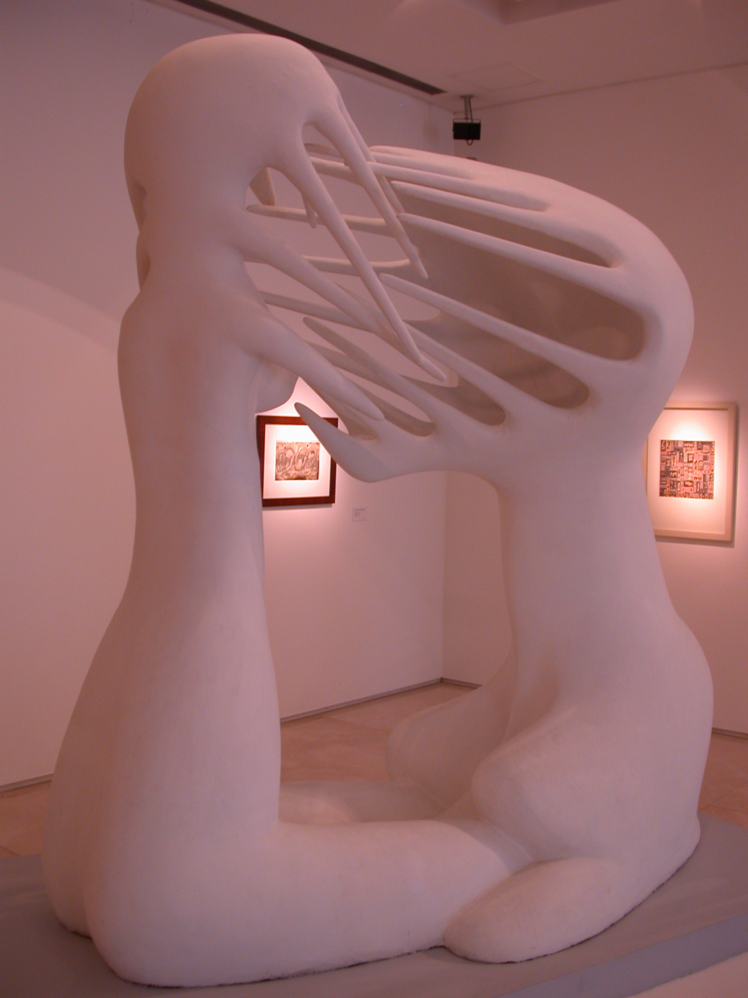 O Impossivel, The Impossible, Statue by Maria Martins in MALBA Museum, Buenos Aires, Argentina