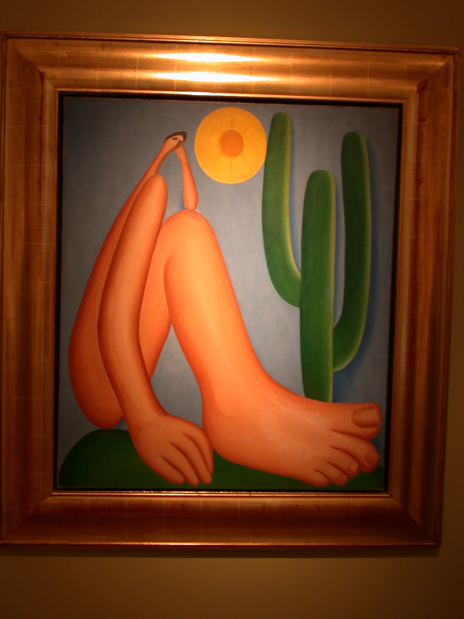 Aoapora, Painting by Tarsila do Amaral, MALBA Museum, Buenos Aires, Argentina