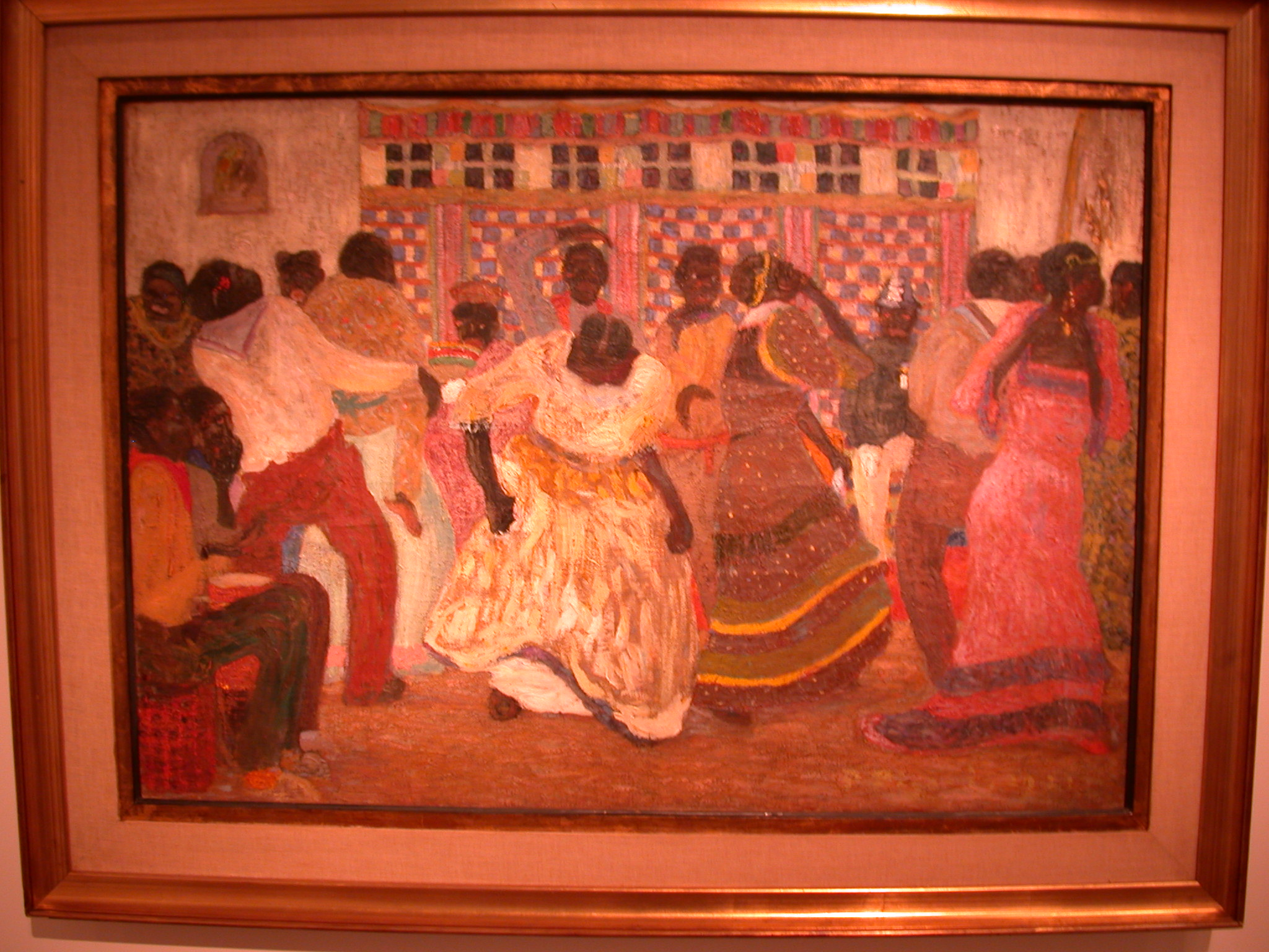 Candombe, Painting by Pedro Figari, MALBA Museum, Buenos Aires, Argentina
