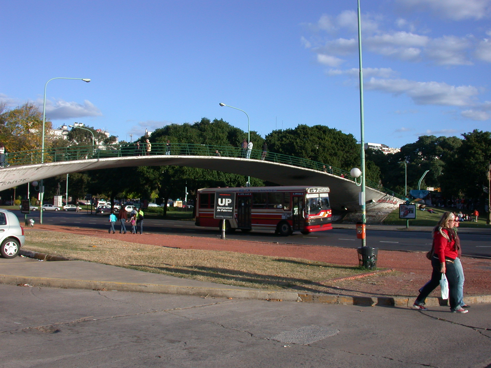 Bridge Next to Law University, Buenos Aires, Argentina