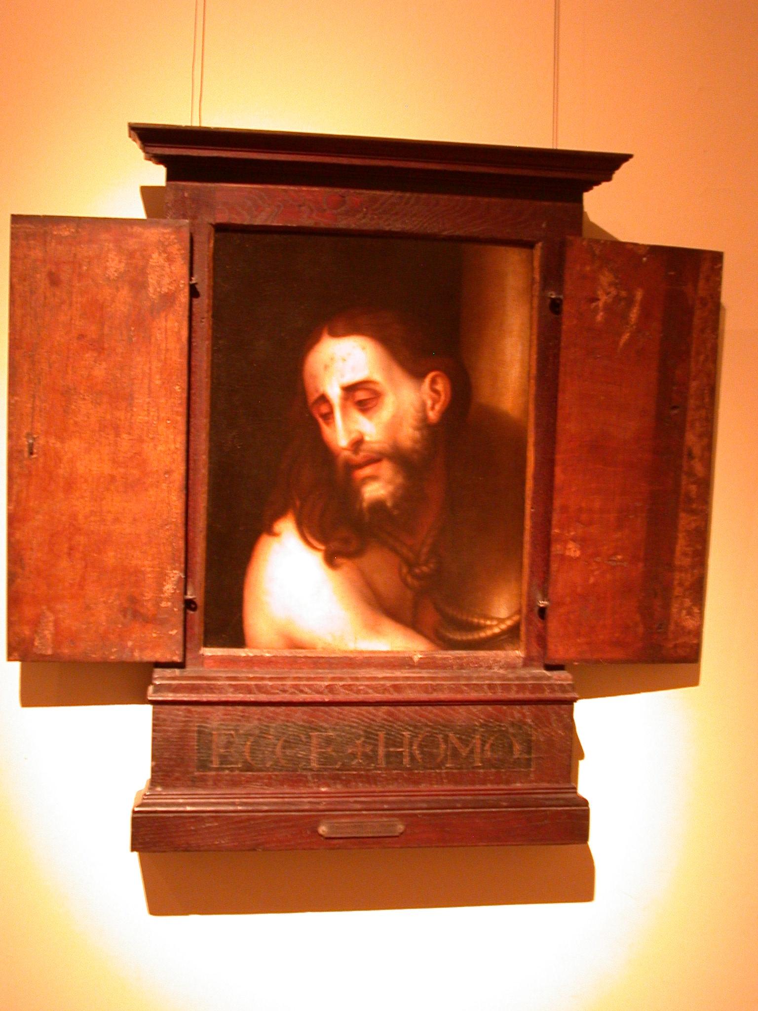 Ecce Homo, Painting by Luis de Morales, Museo de las Bellas Artes, Buenos Aires, Argentina