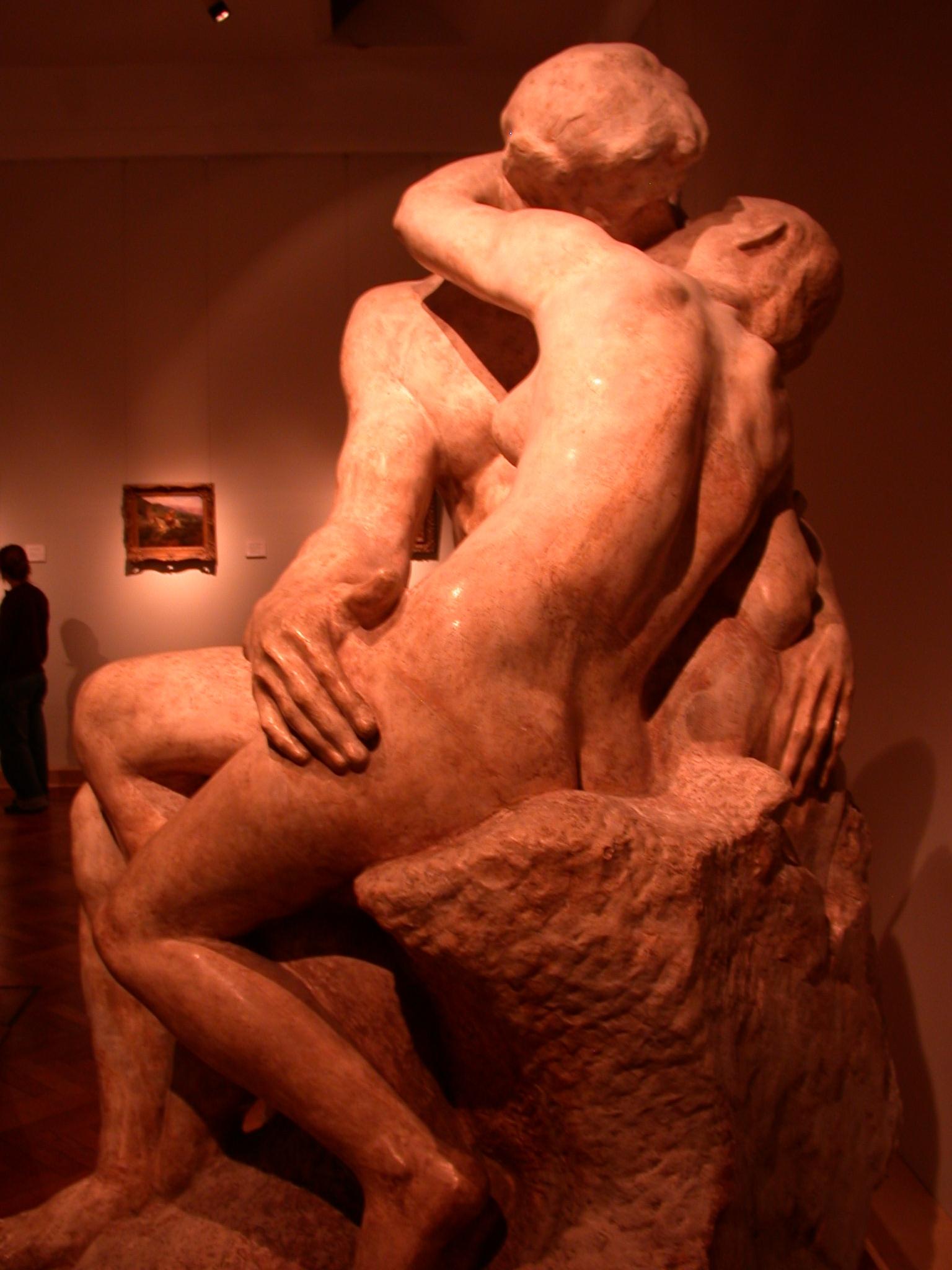 El Beso, The Kiss, Rene Francois Auguste Rodin, Museo de las Bellas Artes, Buenos Aires, Argentina