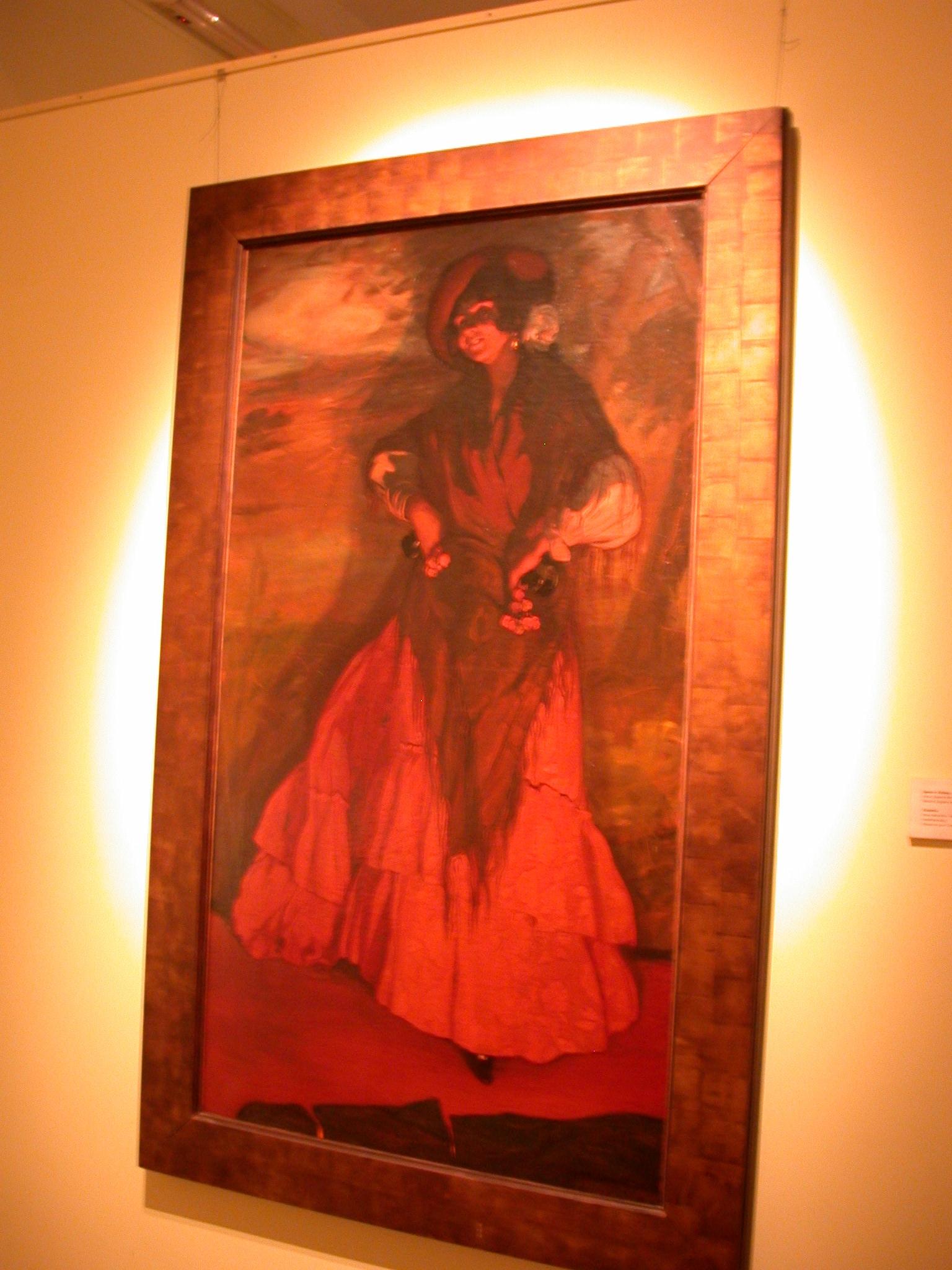 La Gitanilla, The Gypsy, Ignacio Zuloaga, Museo de las Bellas Artes, Buenos Aires, Argentina