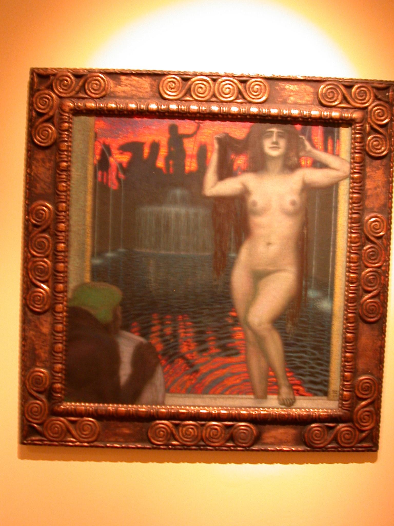 Batsheba, Franz von Stuck, Museo de las Bellas Artes, Buenos Aires, Argentina