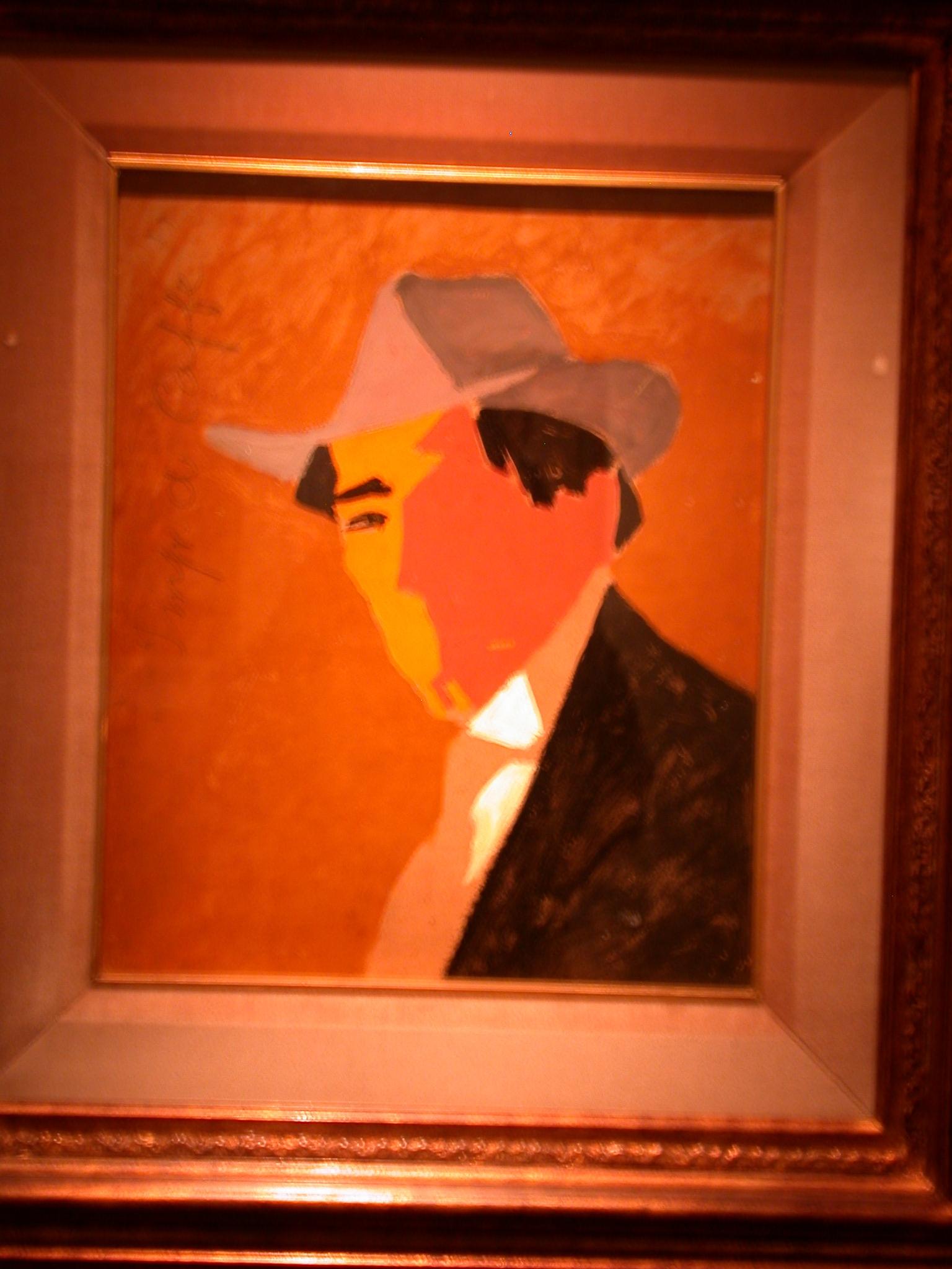 Impresion de Cafe, Rto, Pianista, Bernabe Michelena, Rafael Barrados, Museo de las Bellas Artes, Buenos Aires, Argentina