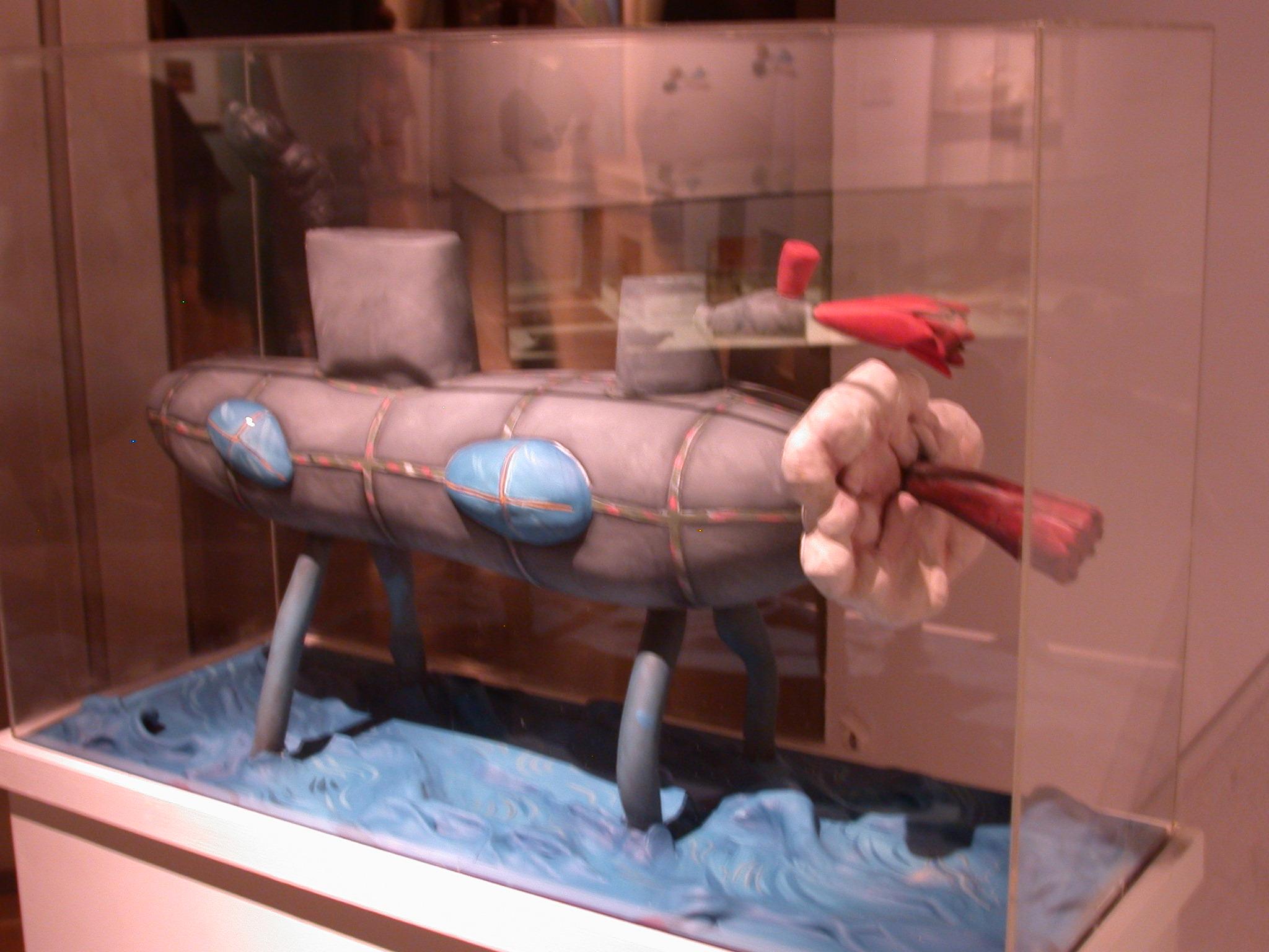 El Submarino, The Submarine, Luis Fernando Benedit, Museo de las Bellas Artes, Buenos Aires, Argentina