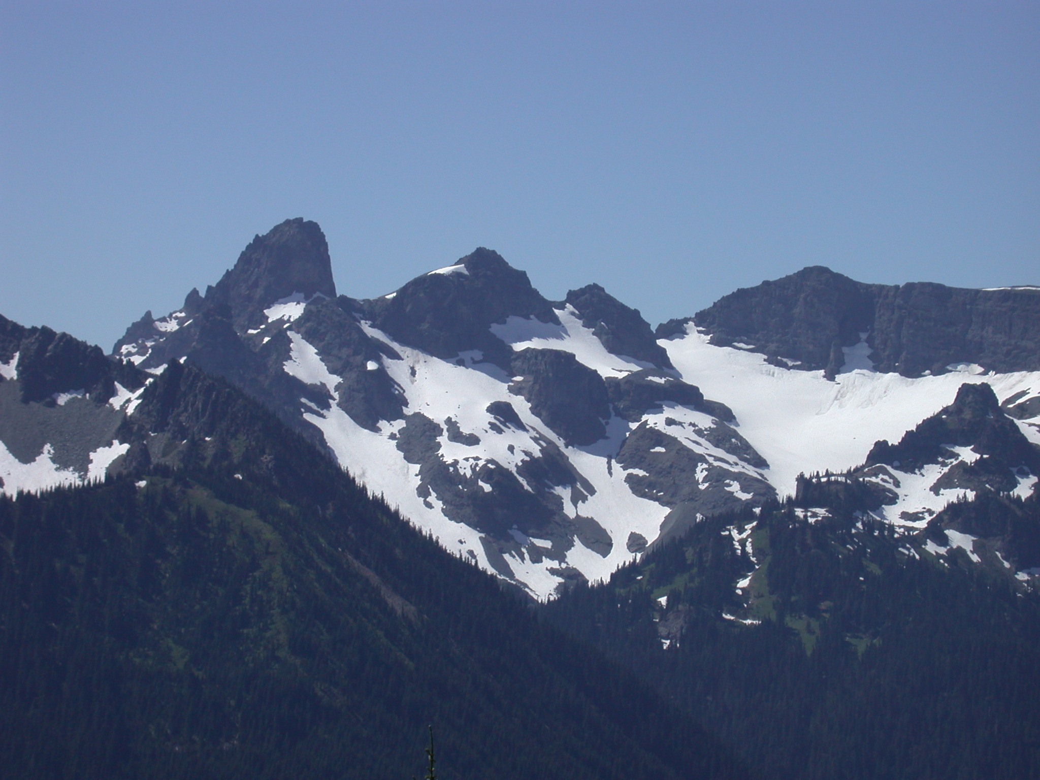 More Snowy Peaks Near Mount Rainier