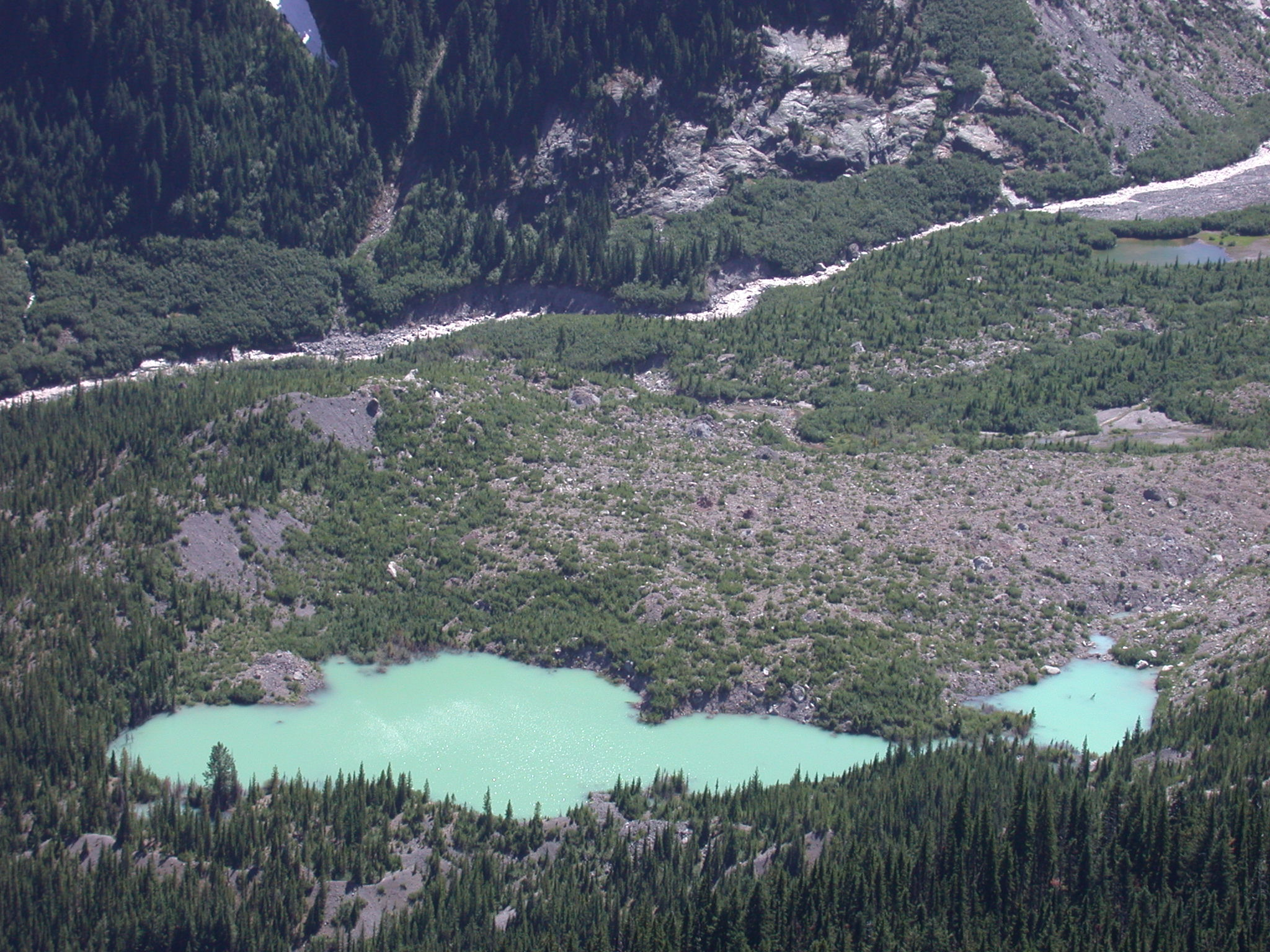 Glacier Lake on Mount Rainier