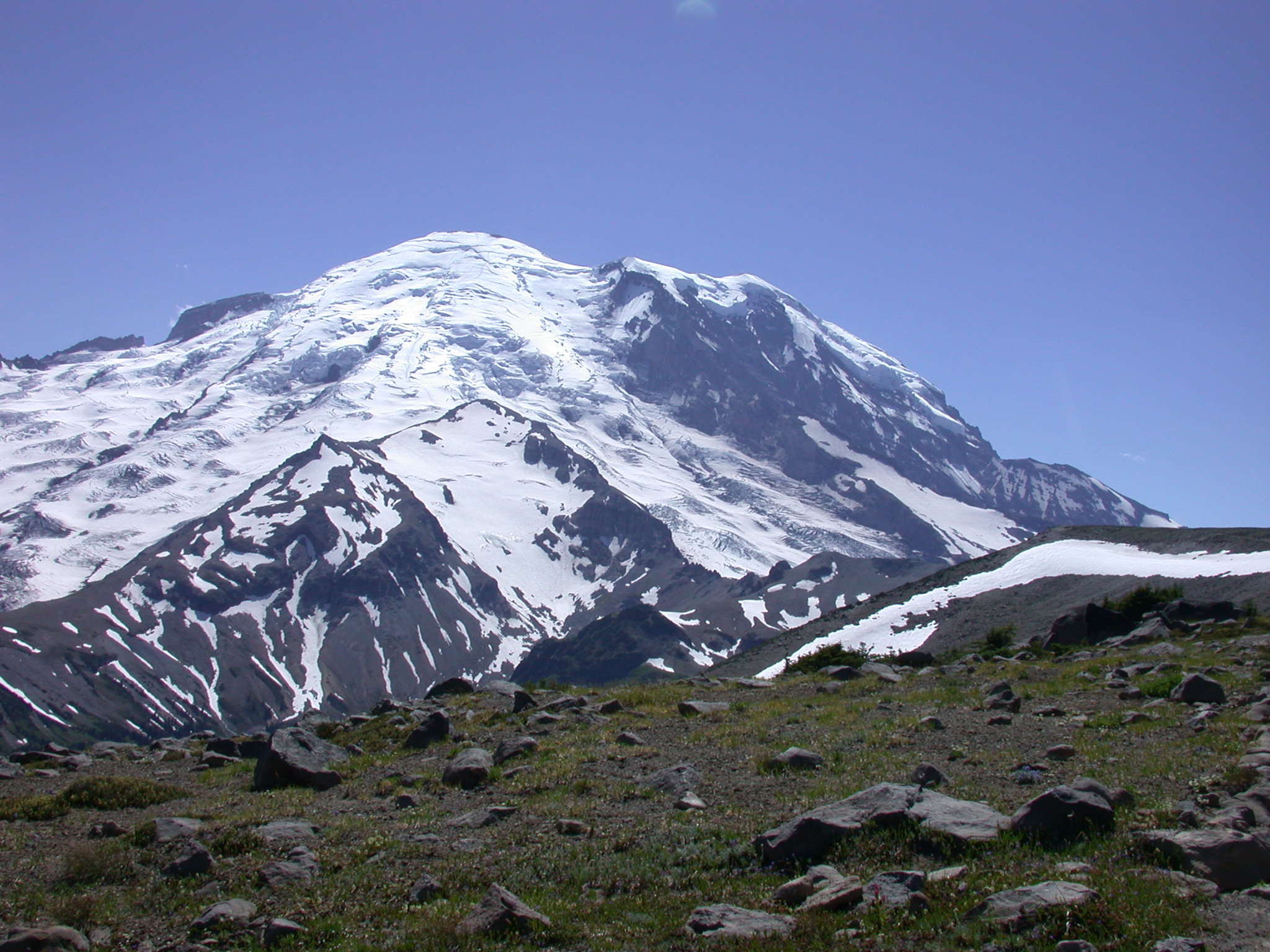 View of Mount Rainier Peak from Burroughs Peak I