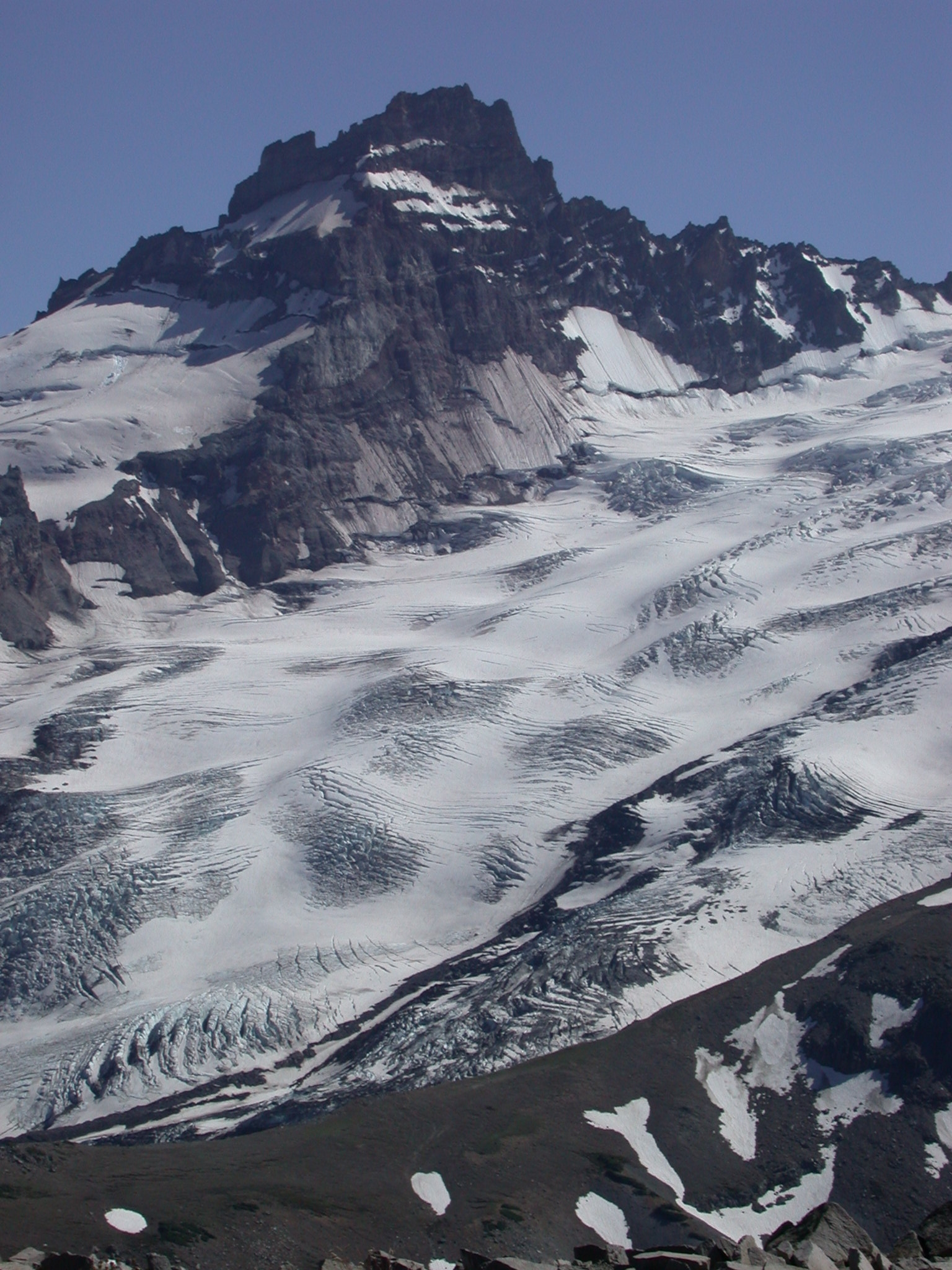 View of Mount Rainier Glacier From Burroughs Peak II