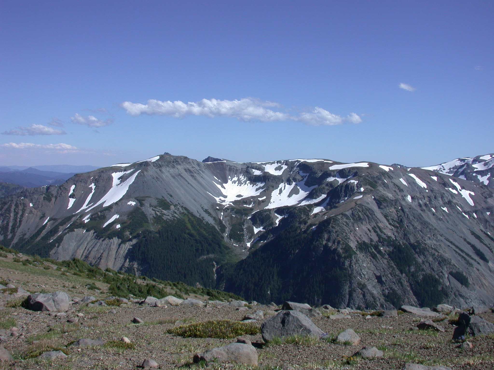 View From Burroughs Peak I on Mount Rainier