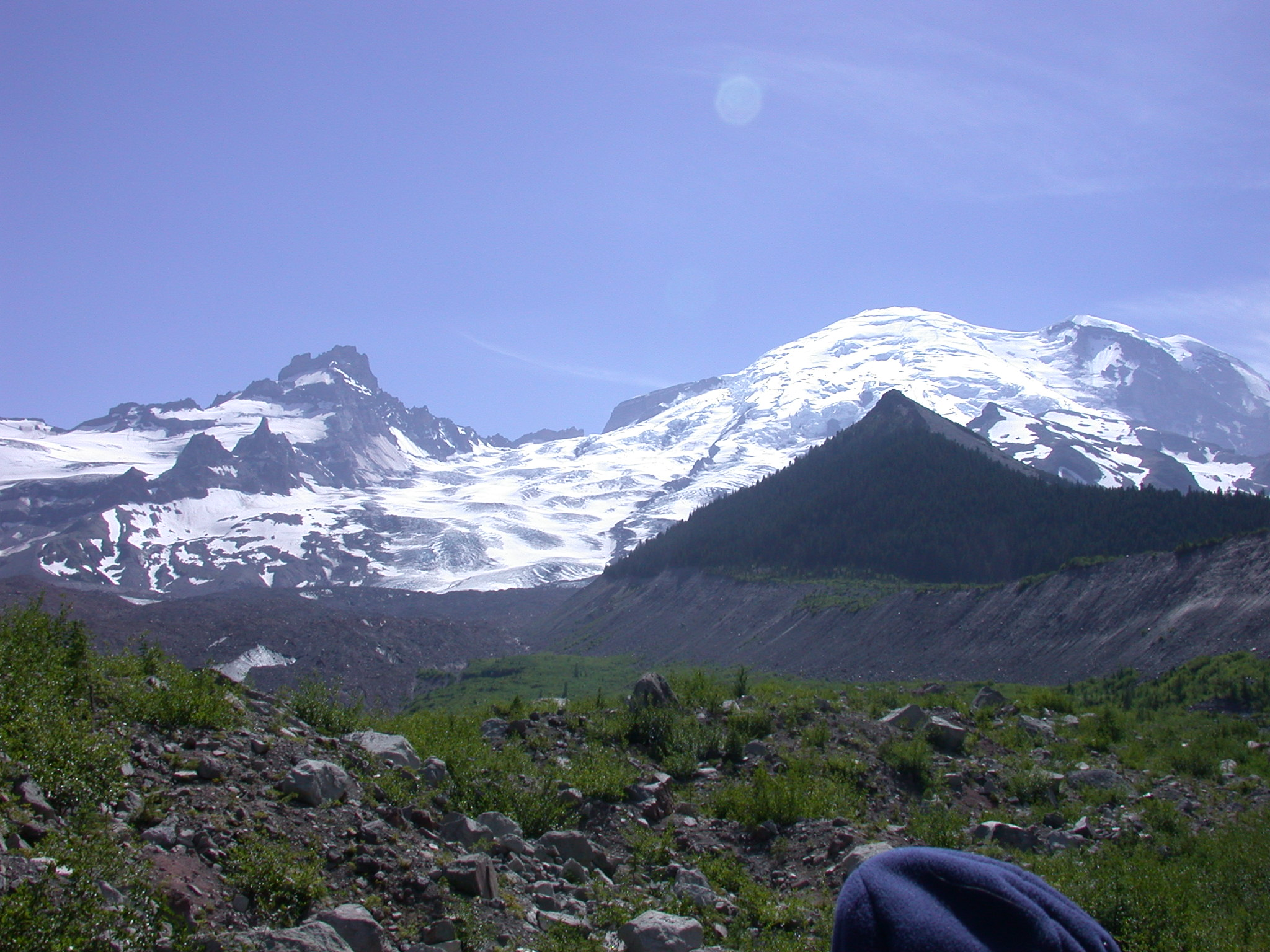 Glacial Pyramidal Goodness on Mount Rainier