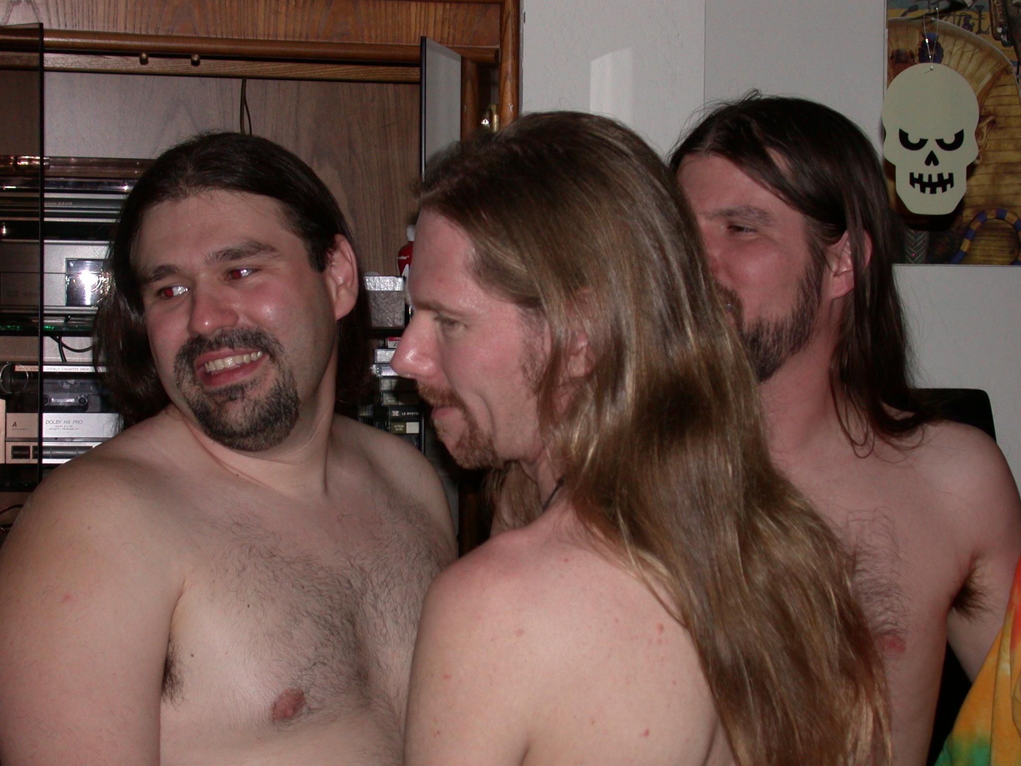 Brian, J Steve, and Robert