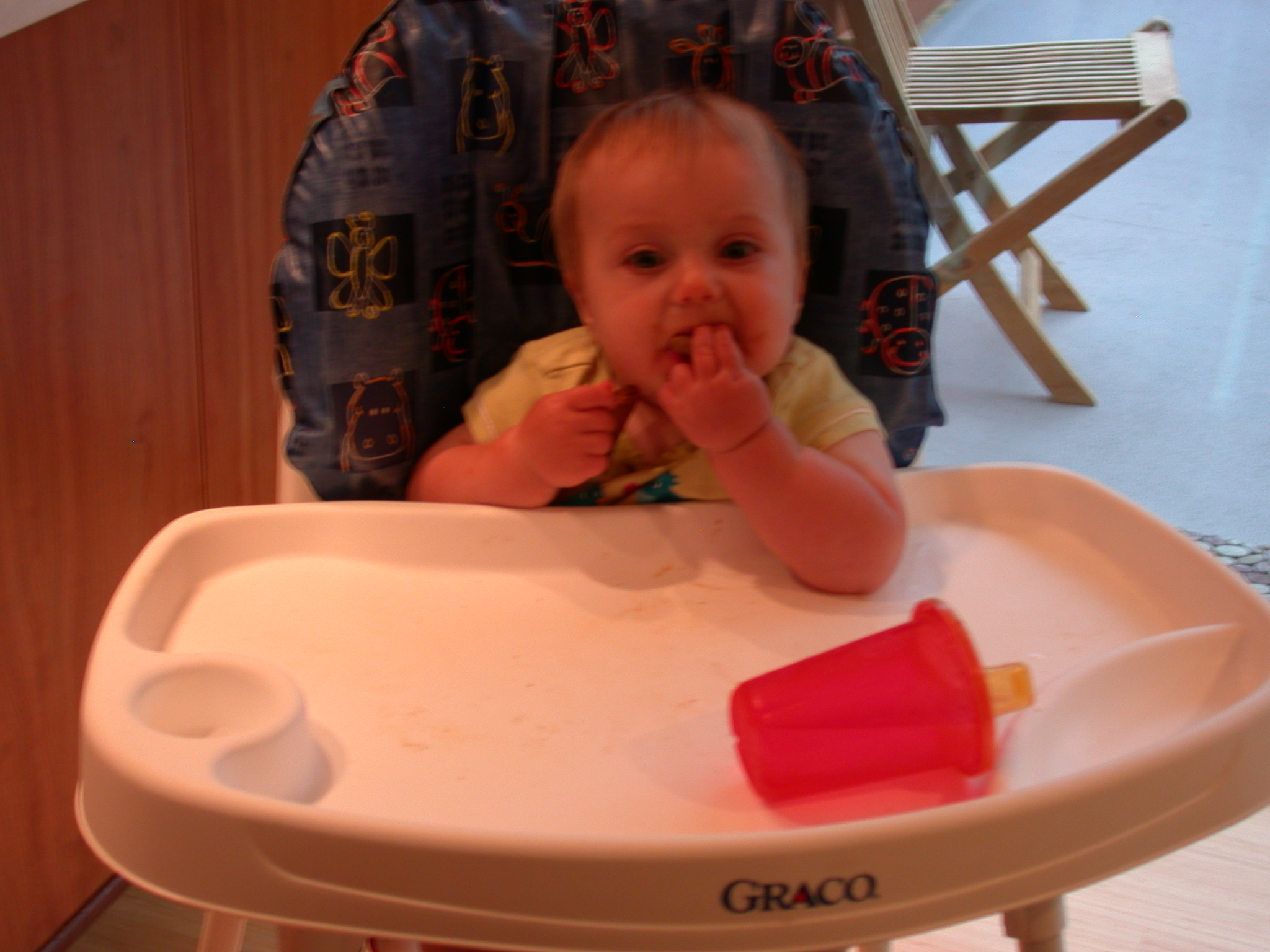 Abigail Eating