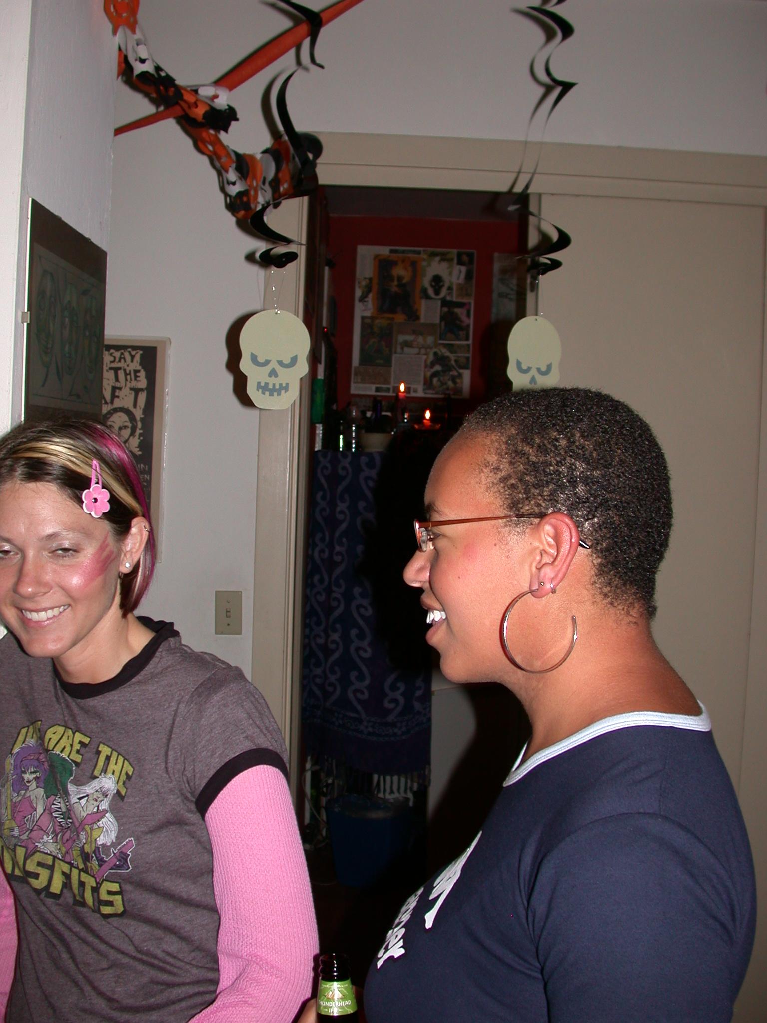 Misfit Laine and Olivia