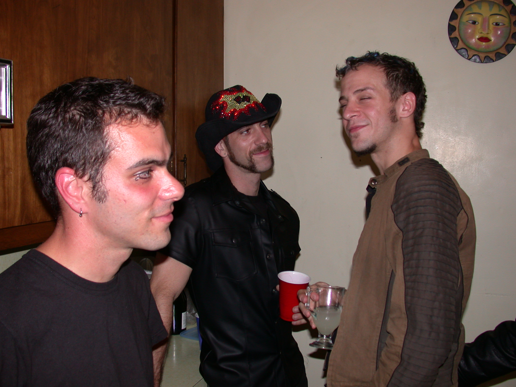 Giovanni, J.B., and Jesse