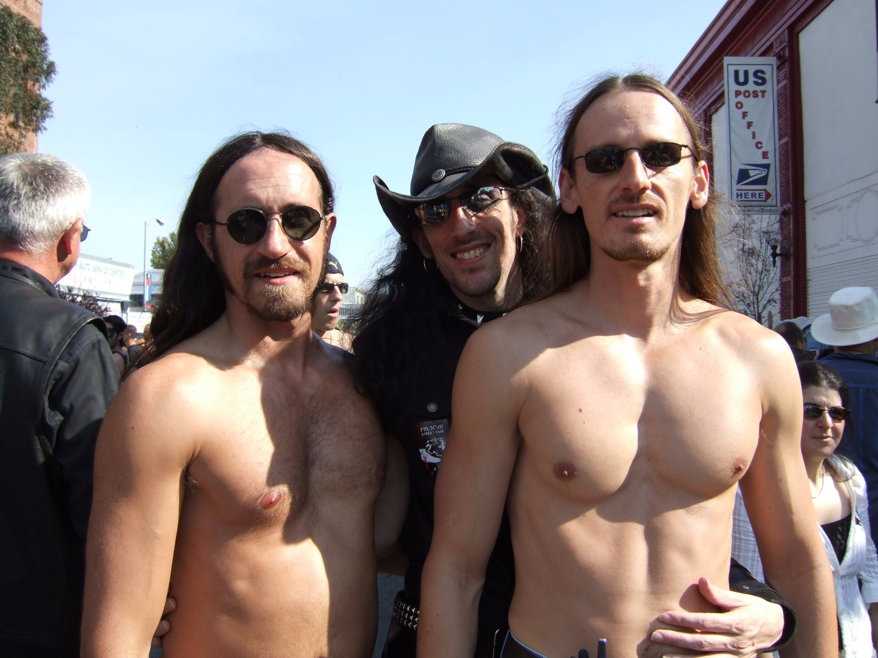 Paul, Herb, and Rob at Folsom Fair 2006