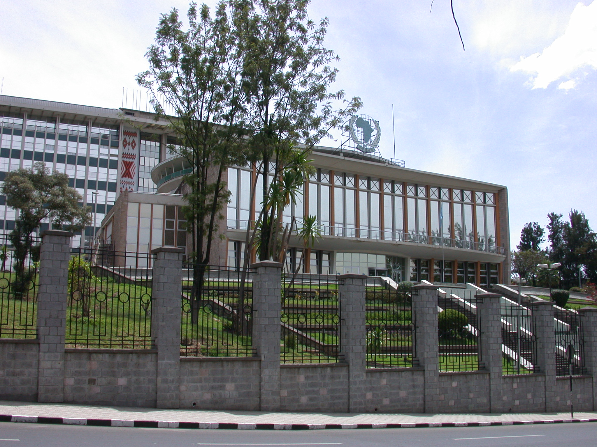 African Union Hall in Addis Ababa, Ethiopia