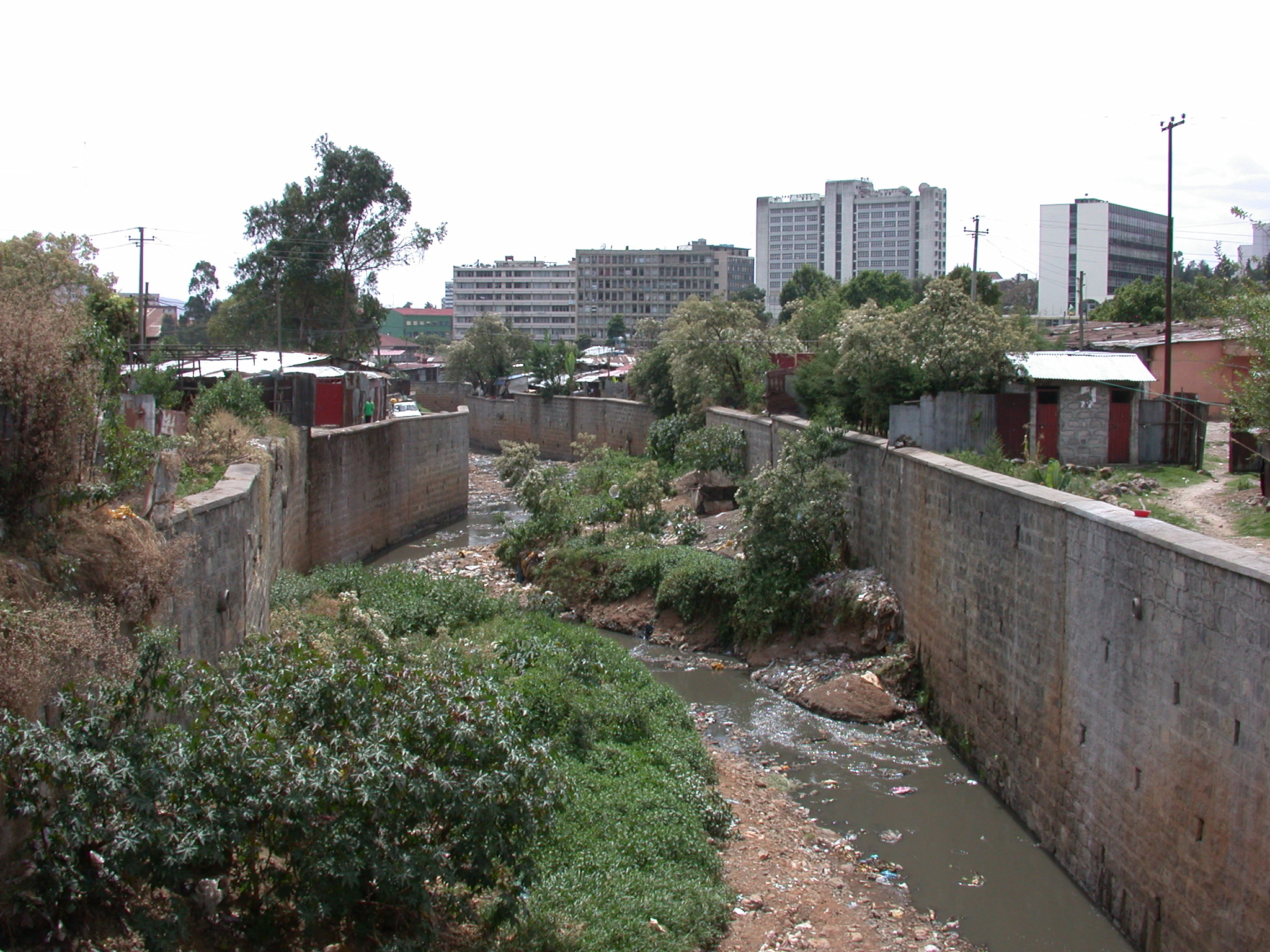 Sewer System in Addis Ababa, Ethiopia