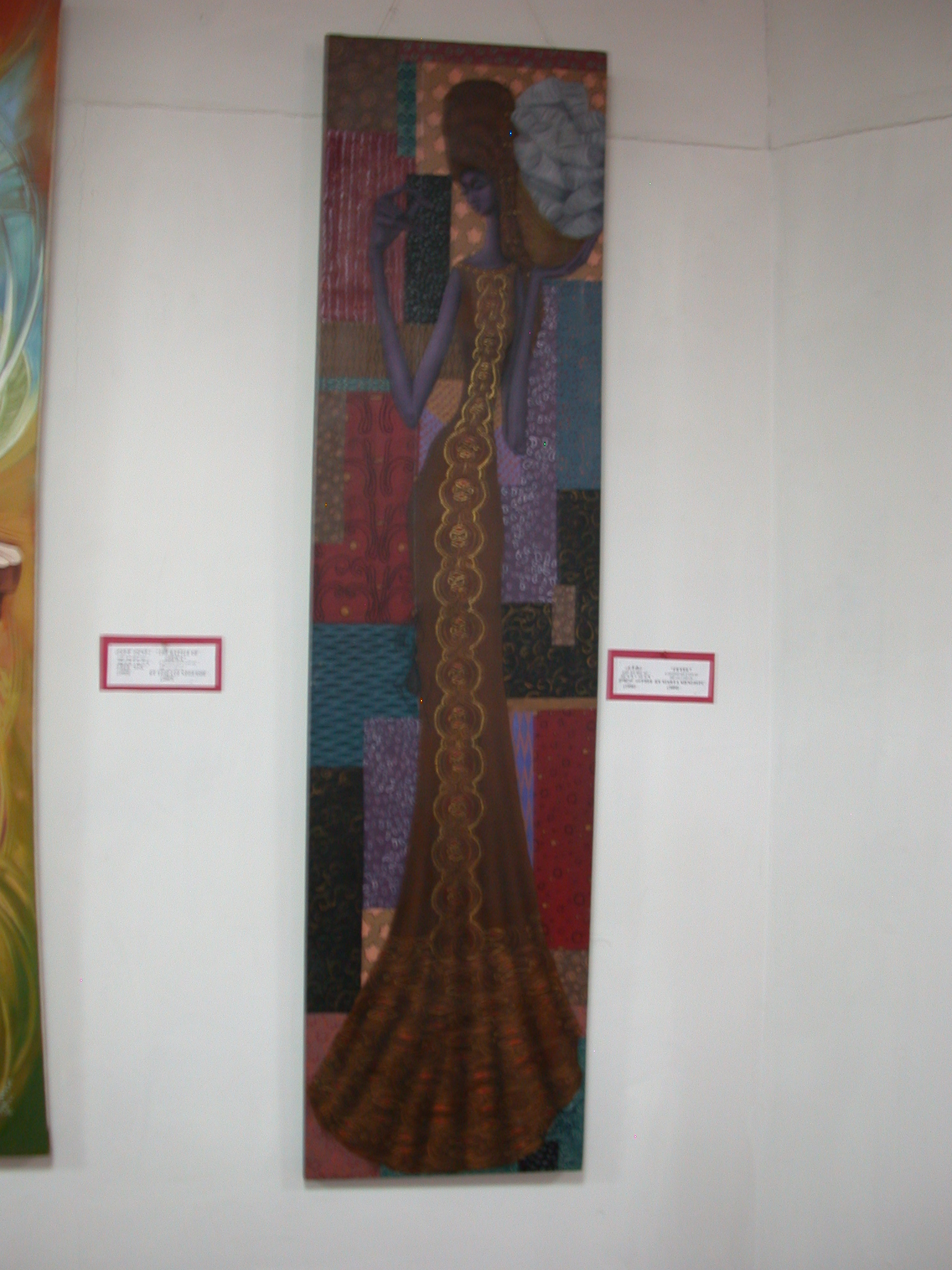Fetel by Marta Mengistu (2004), National Museum, Addis Ababa, Ethiopia