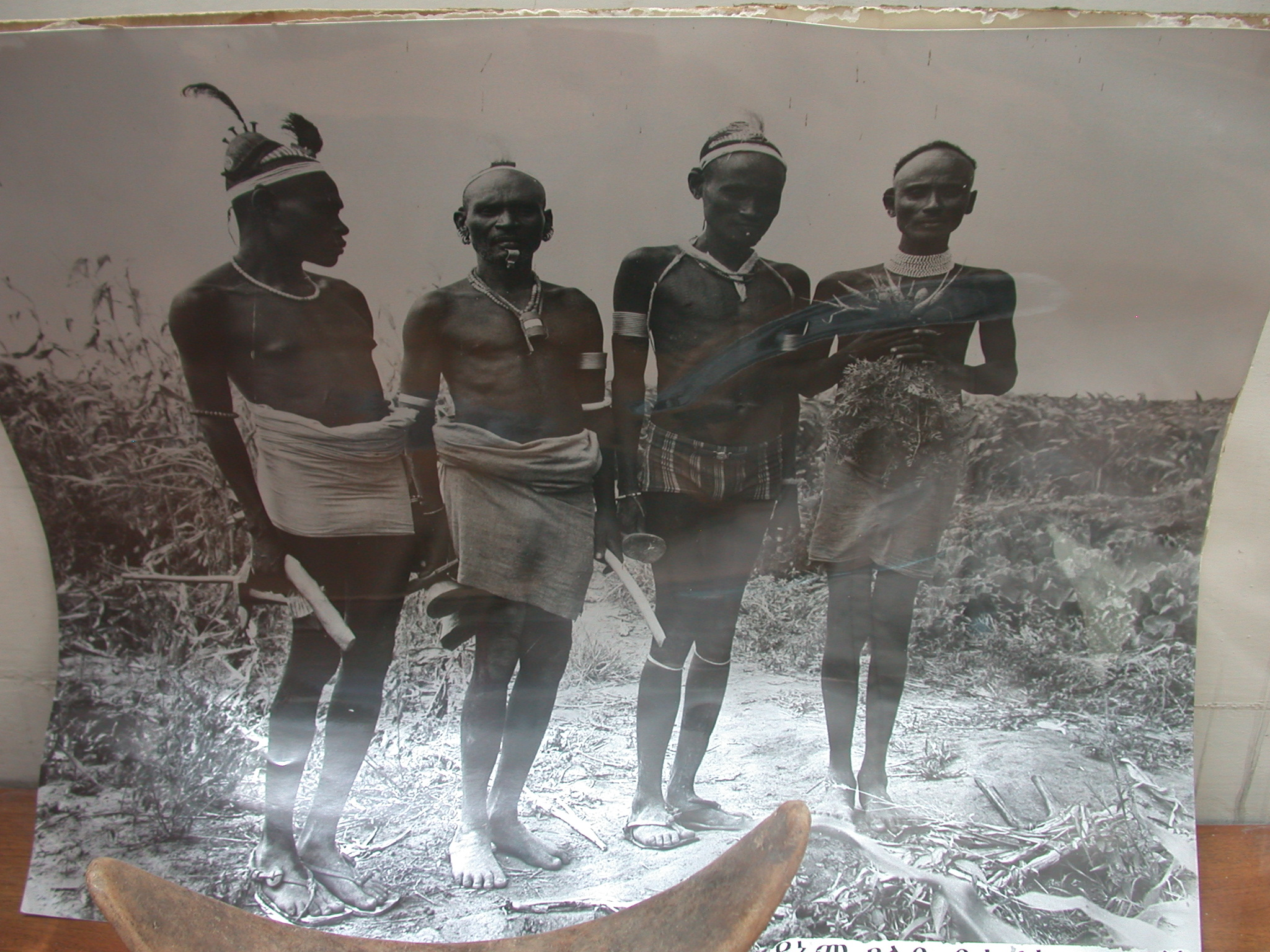 Photo of Ethiopian Tribal People, National Museum, Addis Ababa, Ethiopia