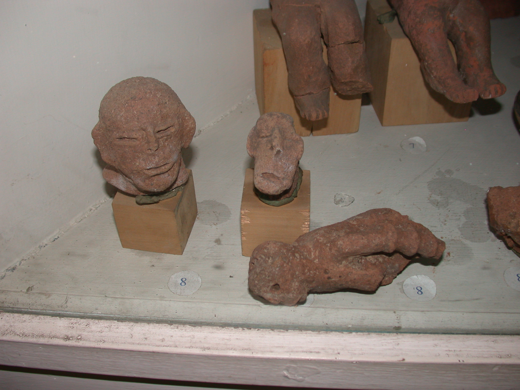 Buff Earthenware Figurines From 2nd Half of 1st Millenium BCE in Hawlti, Tigrai, Now Located at National Museum, Addis Ababa, Ethiopia