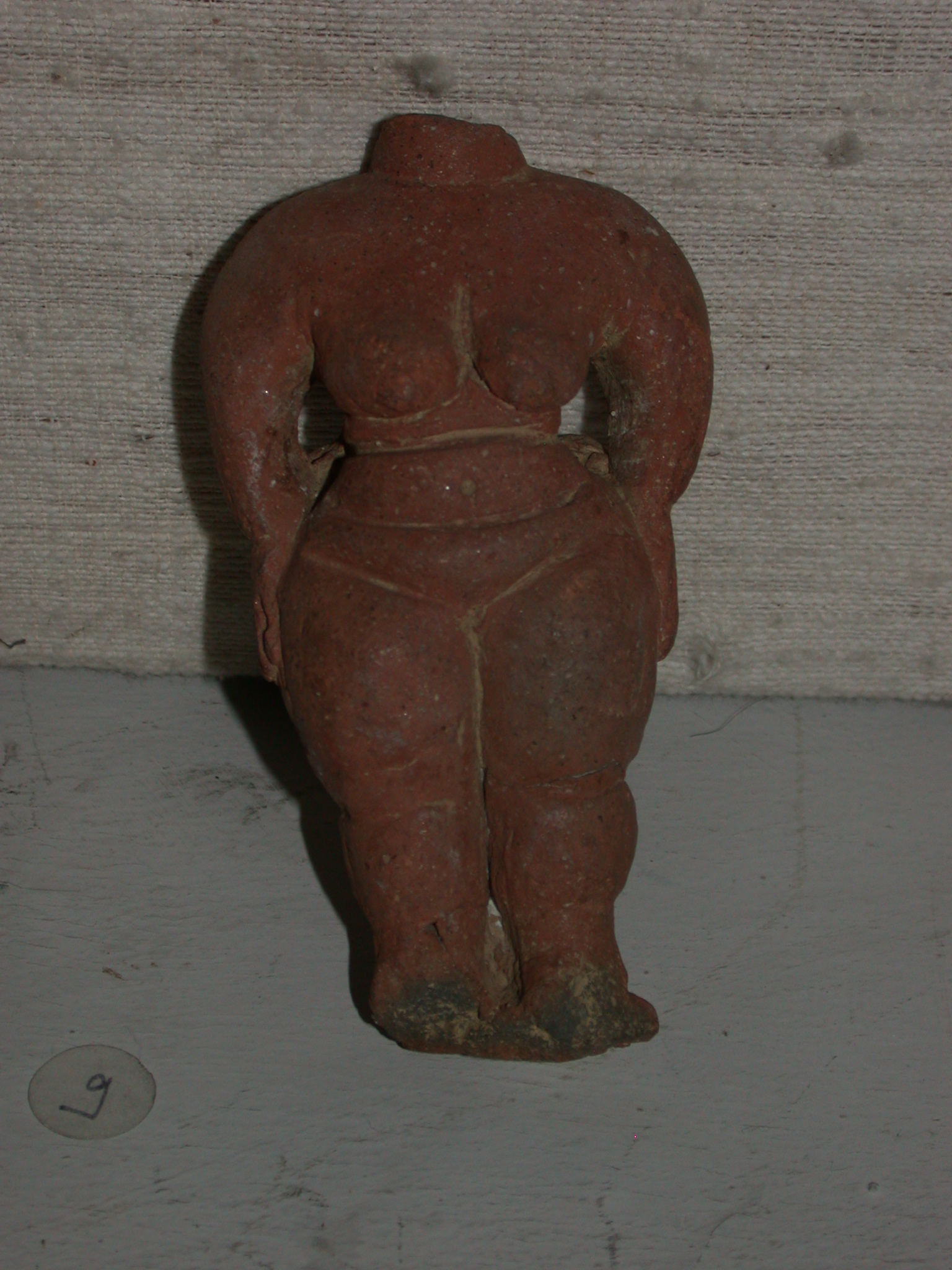 Terra Cotta Female Figurine From Matara, Ethiopia, Now Located in National Museum, Addis Ababa, Ethiopia