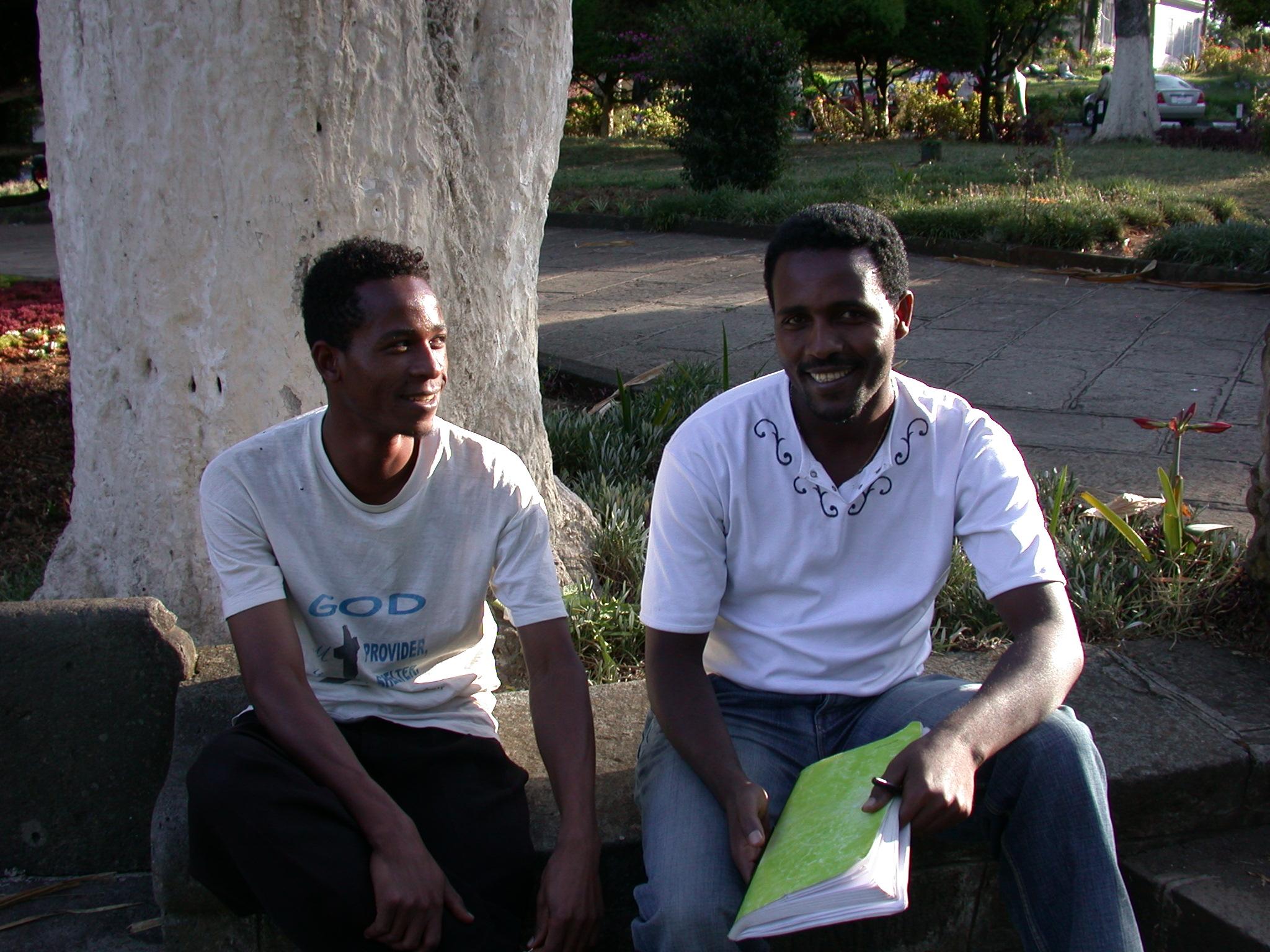 Students at Addis Ababa University, Addis Ababa, Ethiopia
