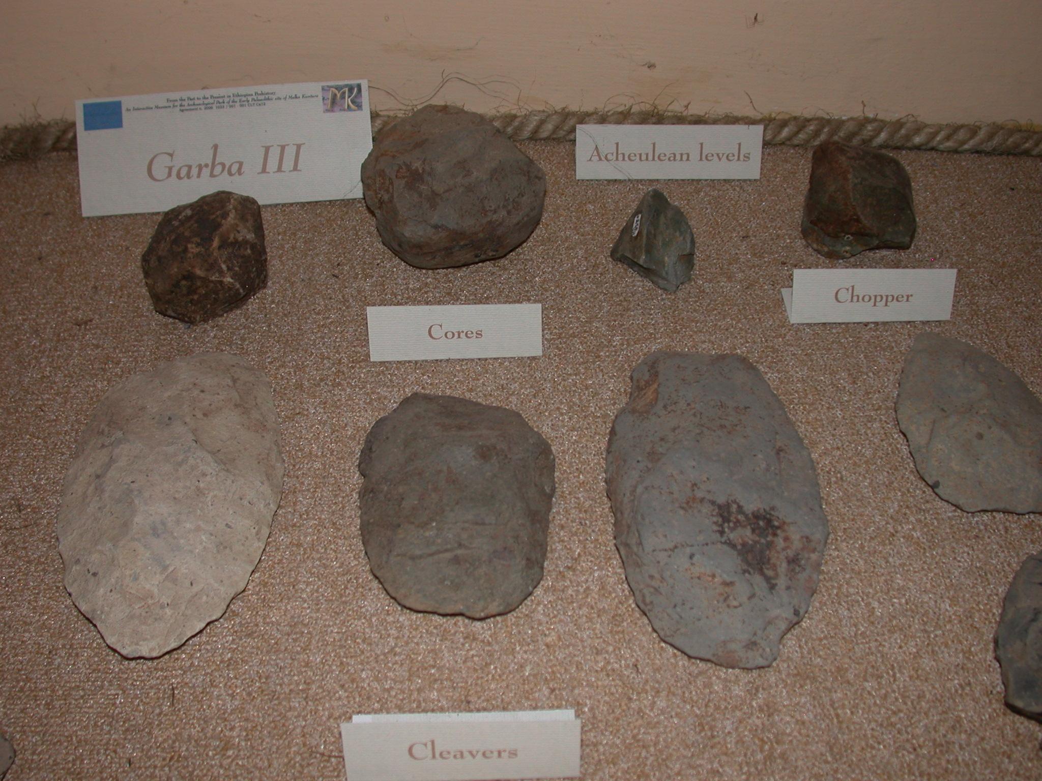 Garba III Tools Part III, Melka Kunture, Ethiopia