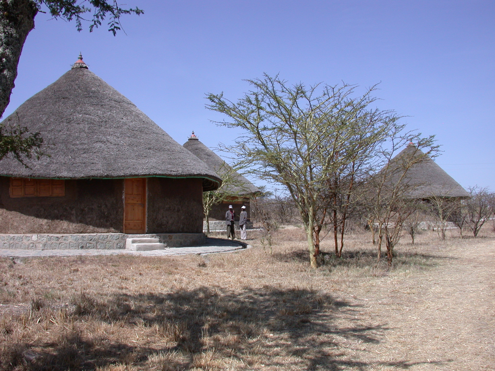 Exhibit Tukuls, Melka Kunture, Ethiopia