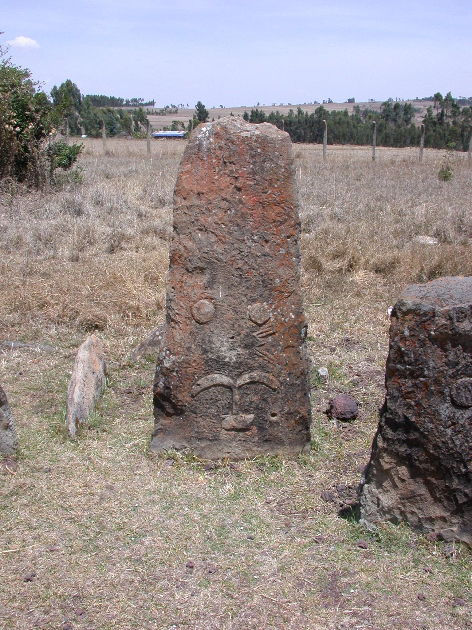 Stela, Tiya, South of Addis Ababa, Ethiopia